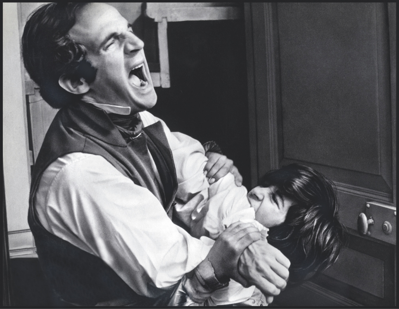 mage extraite de L'Enfant sauvage, film de François Truffaut, 1970.