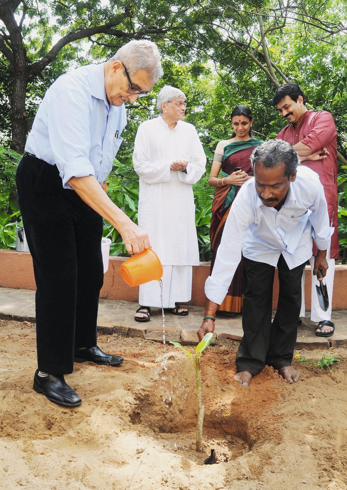 Amartya Sen à Chennai (Inde) en 2013.