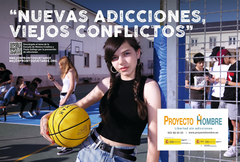 Campaña #mejorprontoquetarde, asociación Proyecto Hombre, 2018