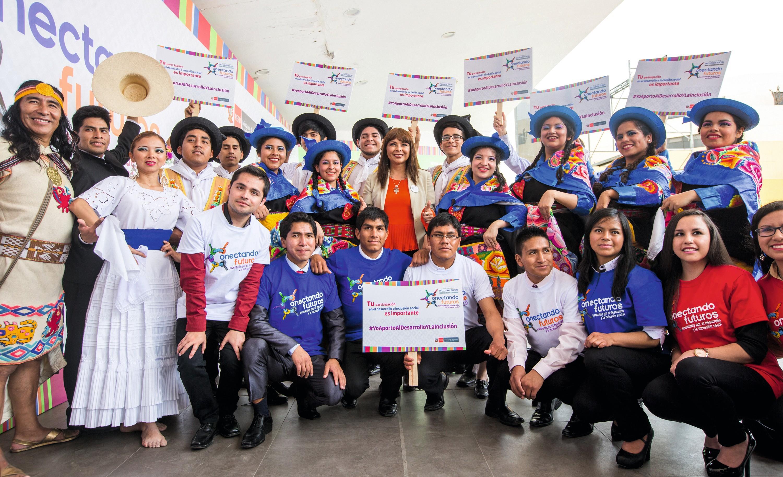 VII Semana de la inclusión social «Conectando Futuros» organizada por el Ministerio de Desarrollo e Inclusión Social del Perú, Lima, 2018