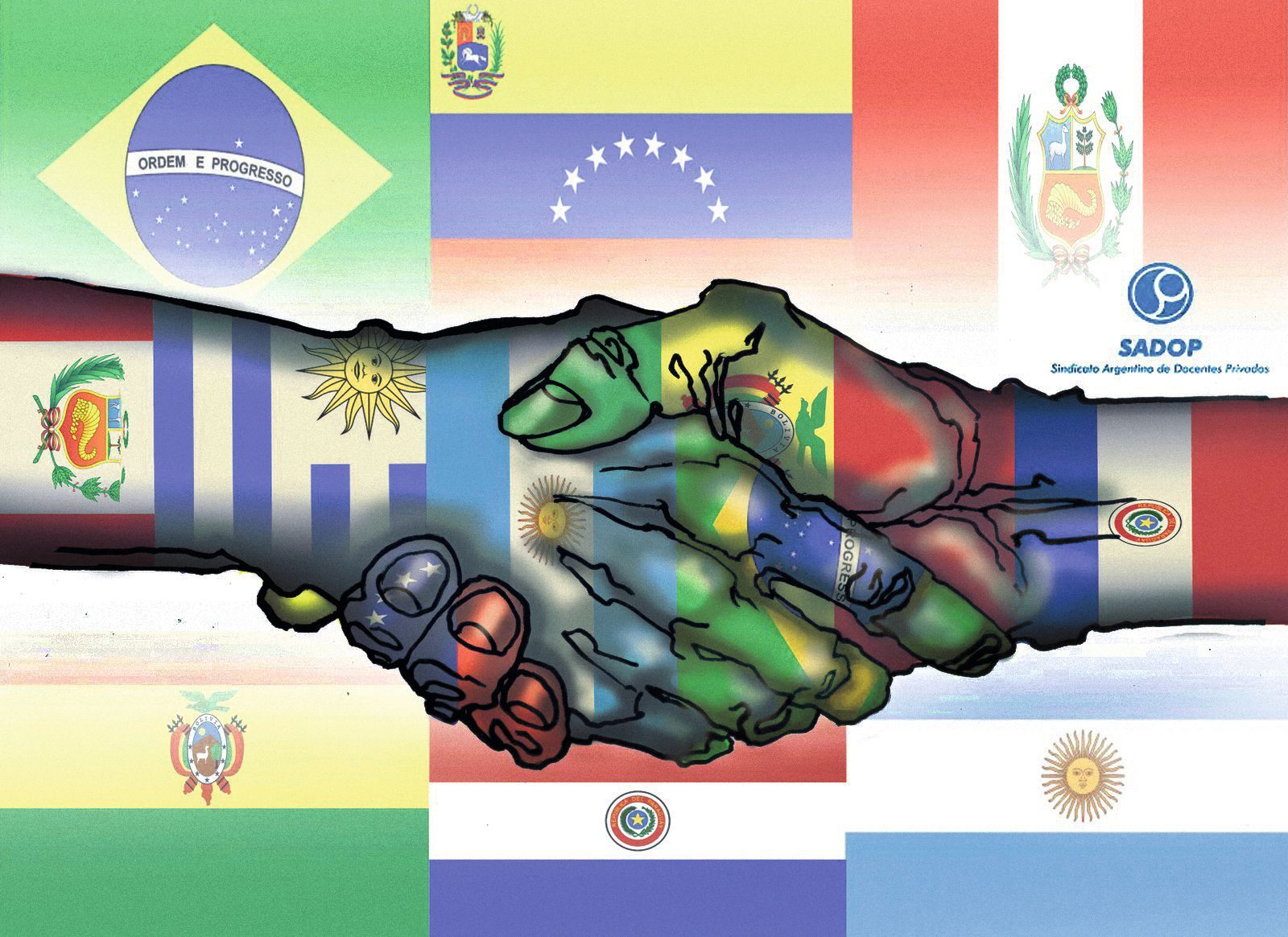 Sindicato argentino de Docentes privados, 04/03/2013.