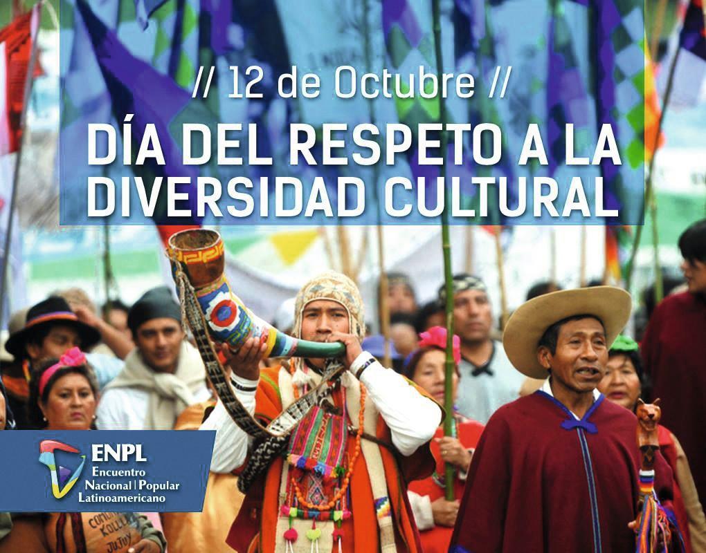 Día del respeto a la diversitad cultural, ENPL, 2017.