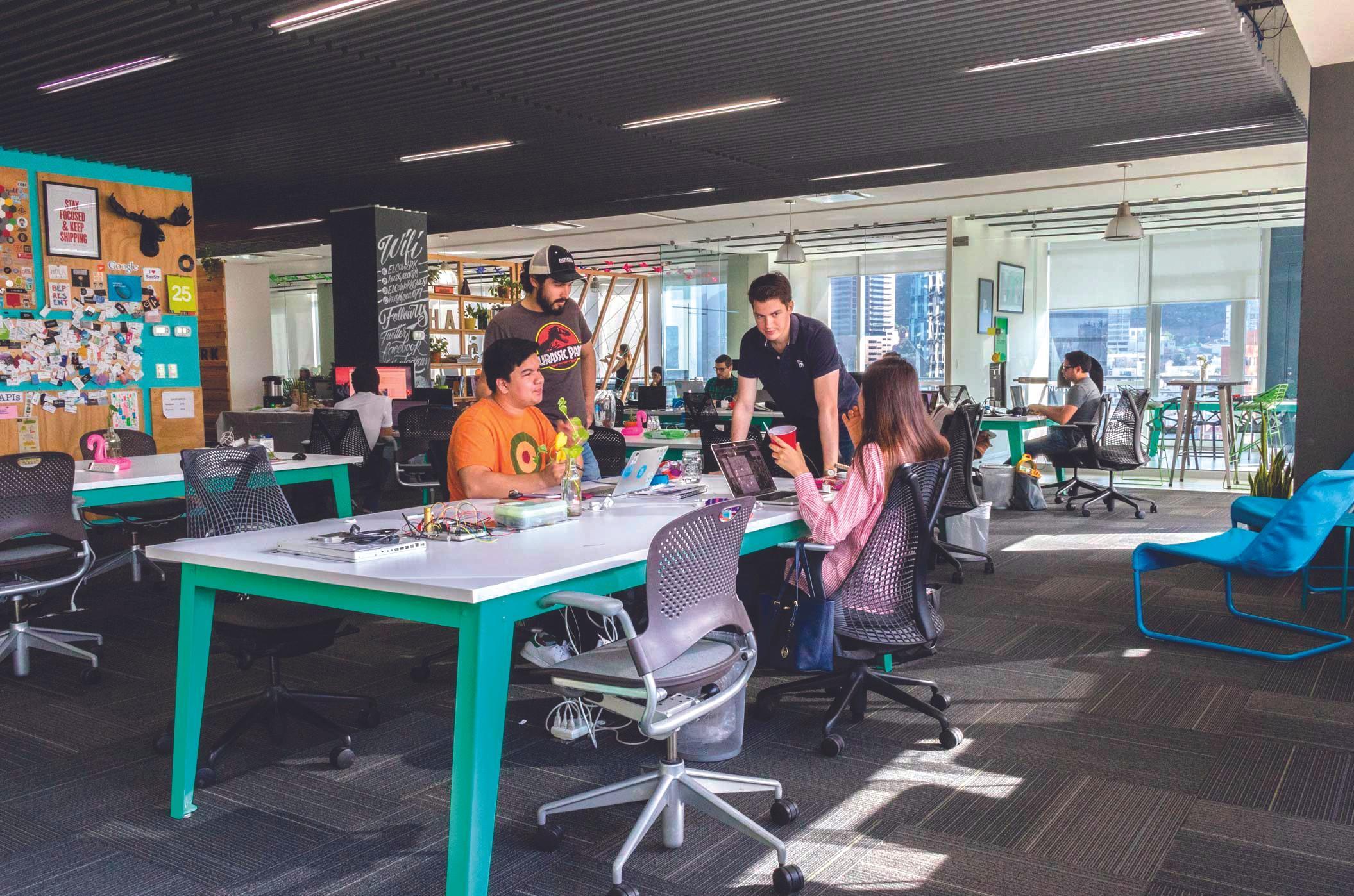 El Cowork, espacio de Coworking, Monterrey, México.