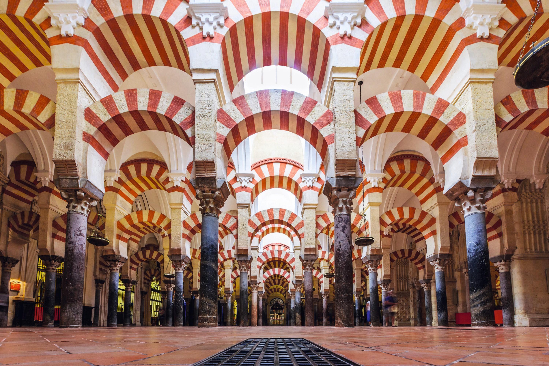 Vista interior de la Mezquita Catedral de Córdoba, 2016.
