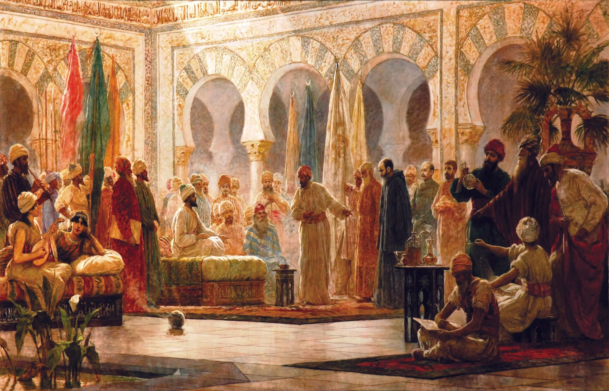 Dionisio Baixeras Verdaguer, Abd-ar-Rahman III y su corte en Medina Azahara, 1885.