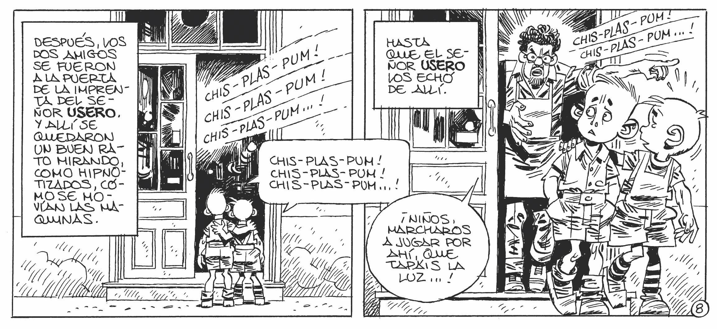 Carlos Giménez, «Ese día», Barrio 4 (extractos), 1977.
