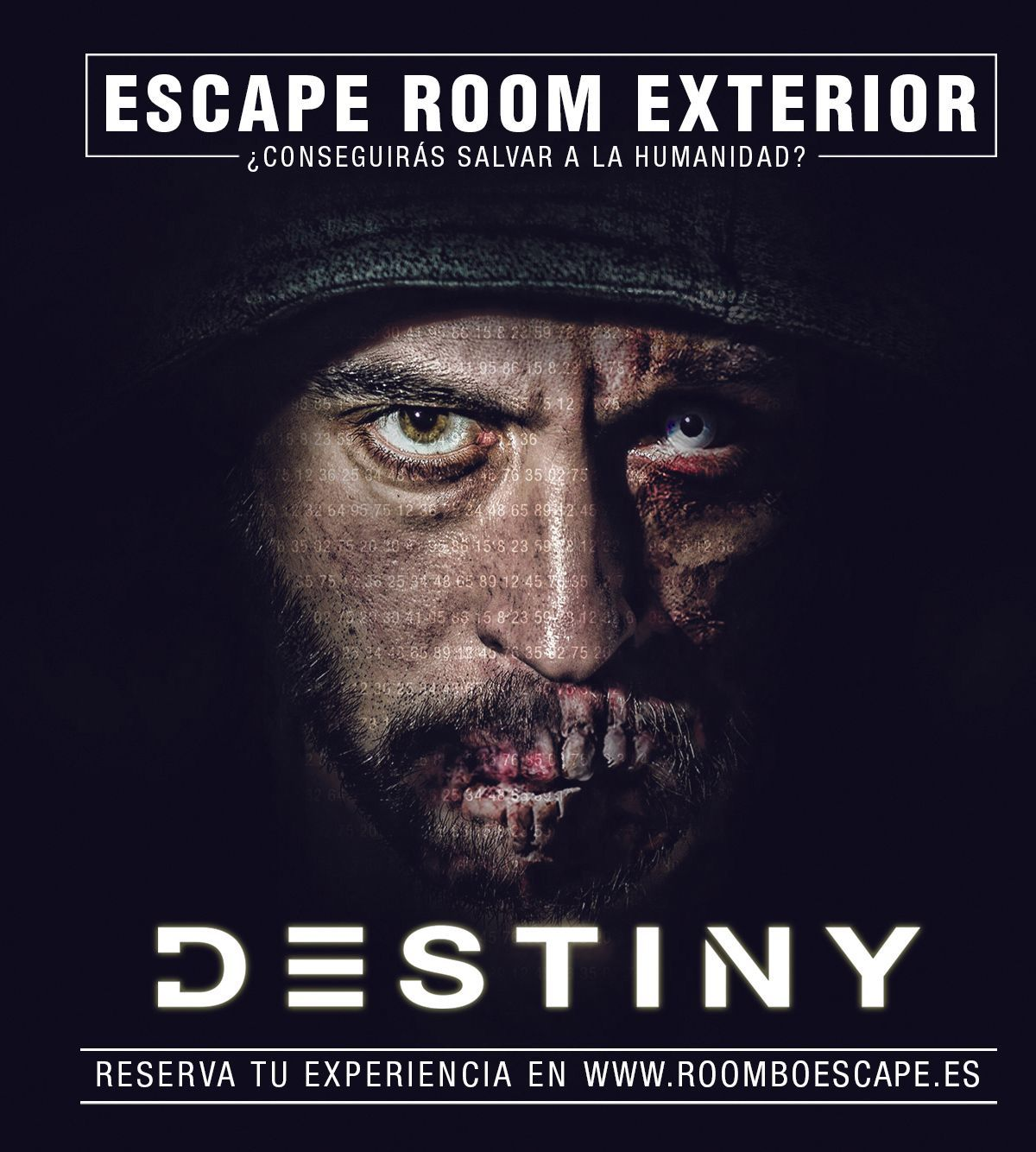 Destiny, Escape Room exterior en Barcelona.