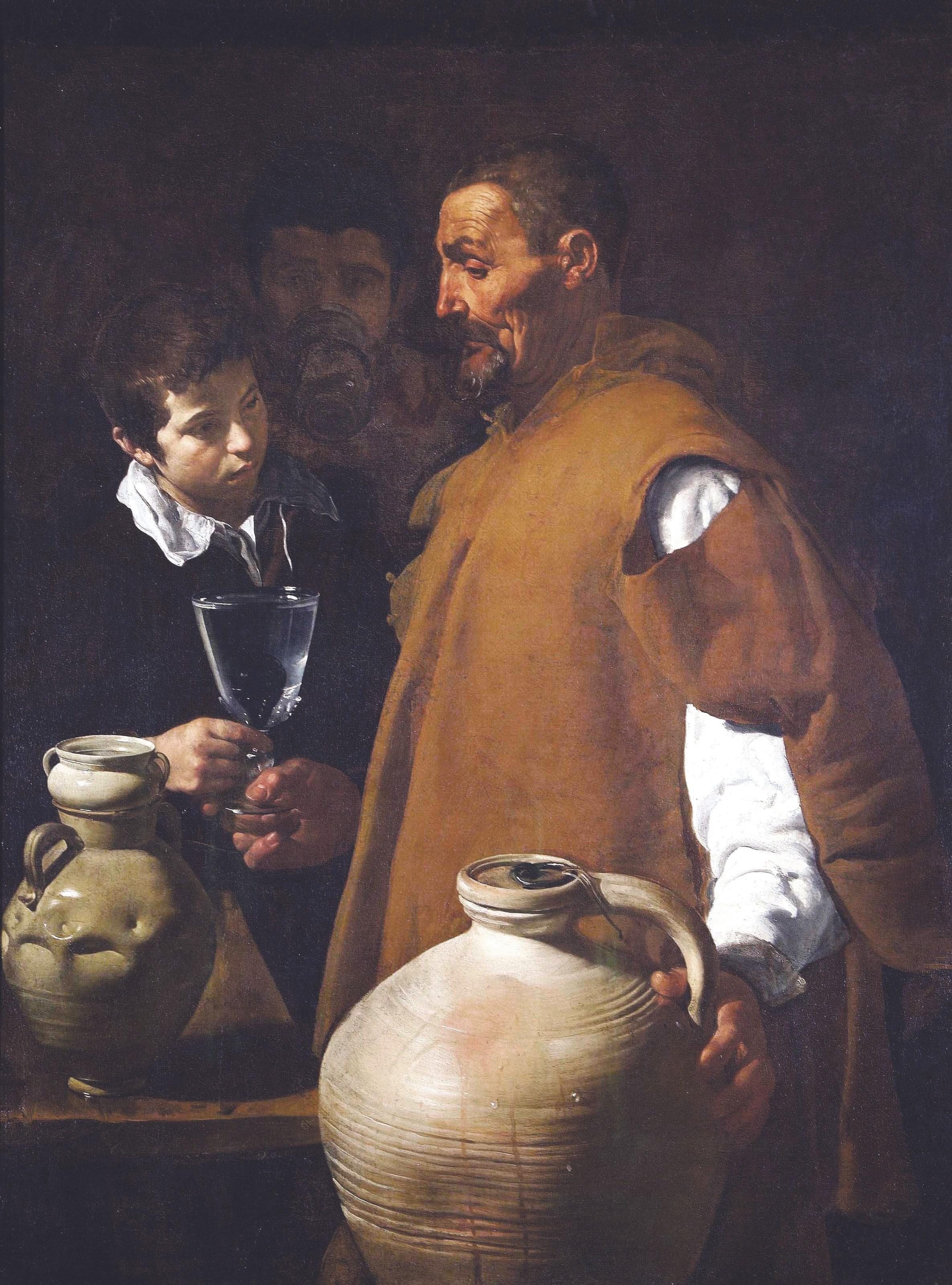 Diego Velázquez, El aguador de Sevilla, 1620.