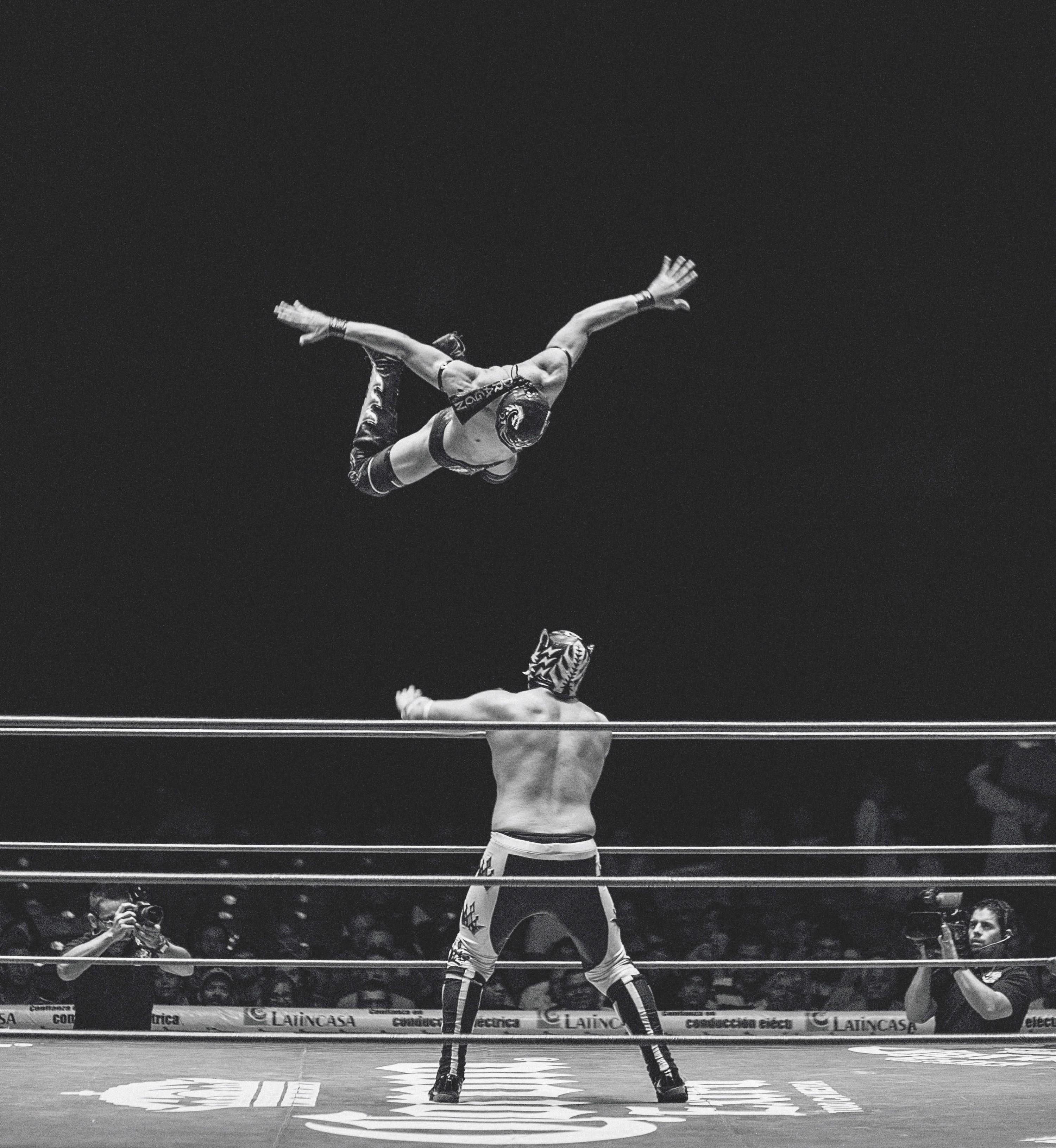 Cucho Jimenez, Una noche de luchas en la Arena, México, 2016.