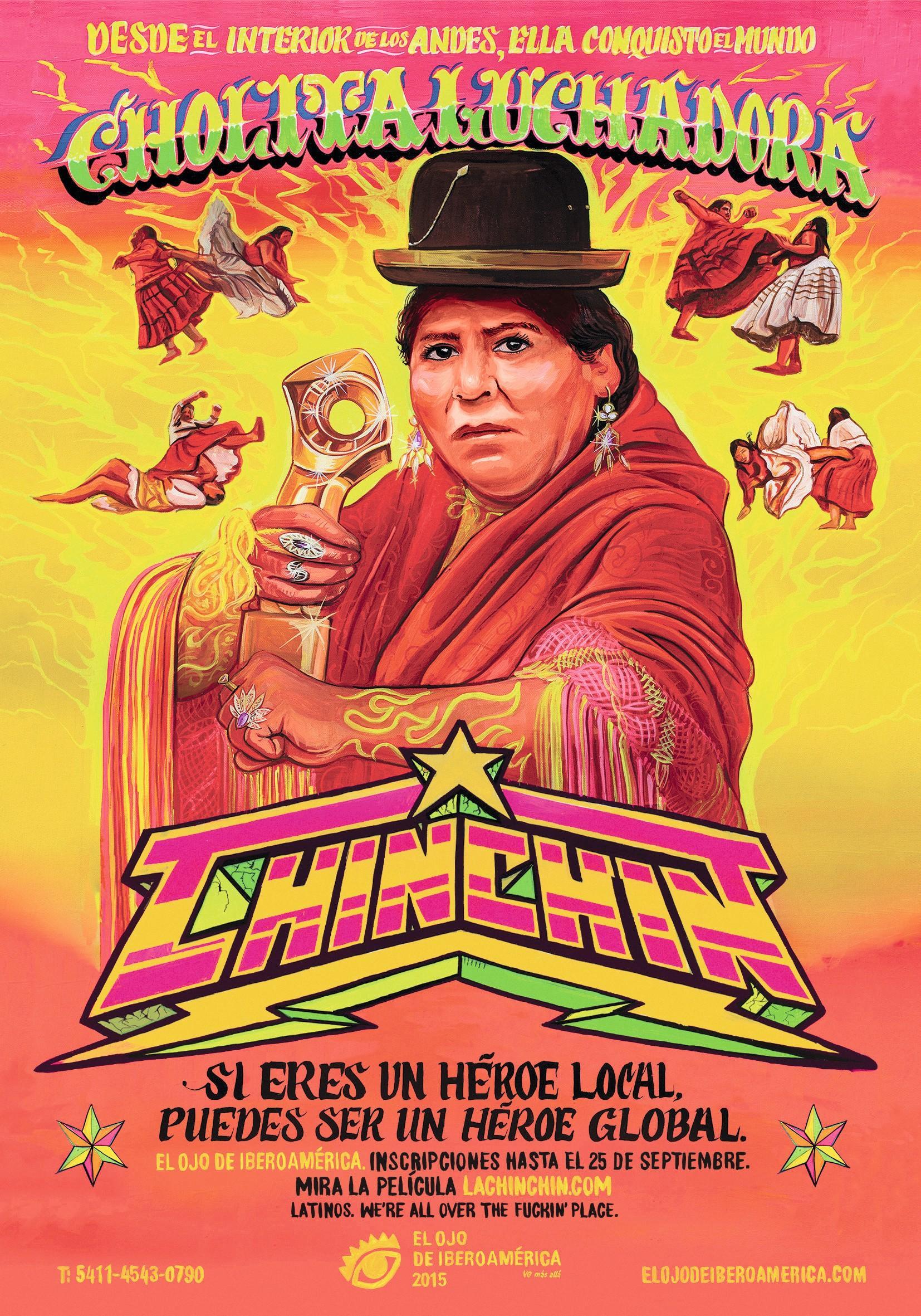 Cartel de un corto promocional para el Festival El ojo de Iberoamérica, 2015.