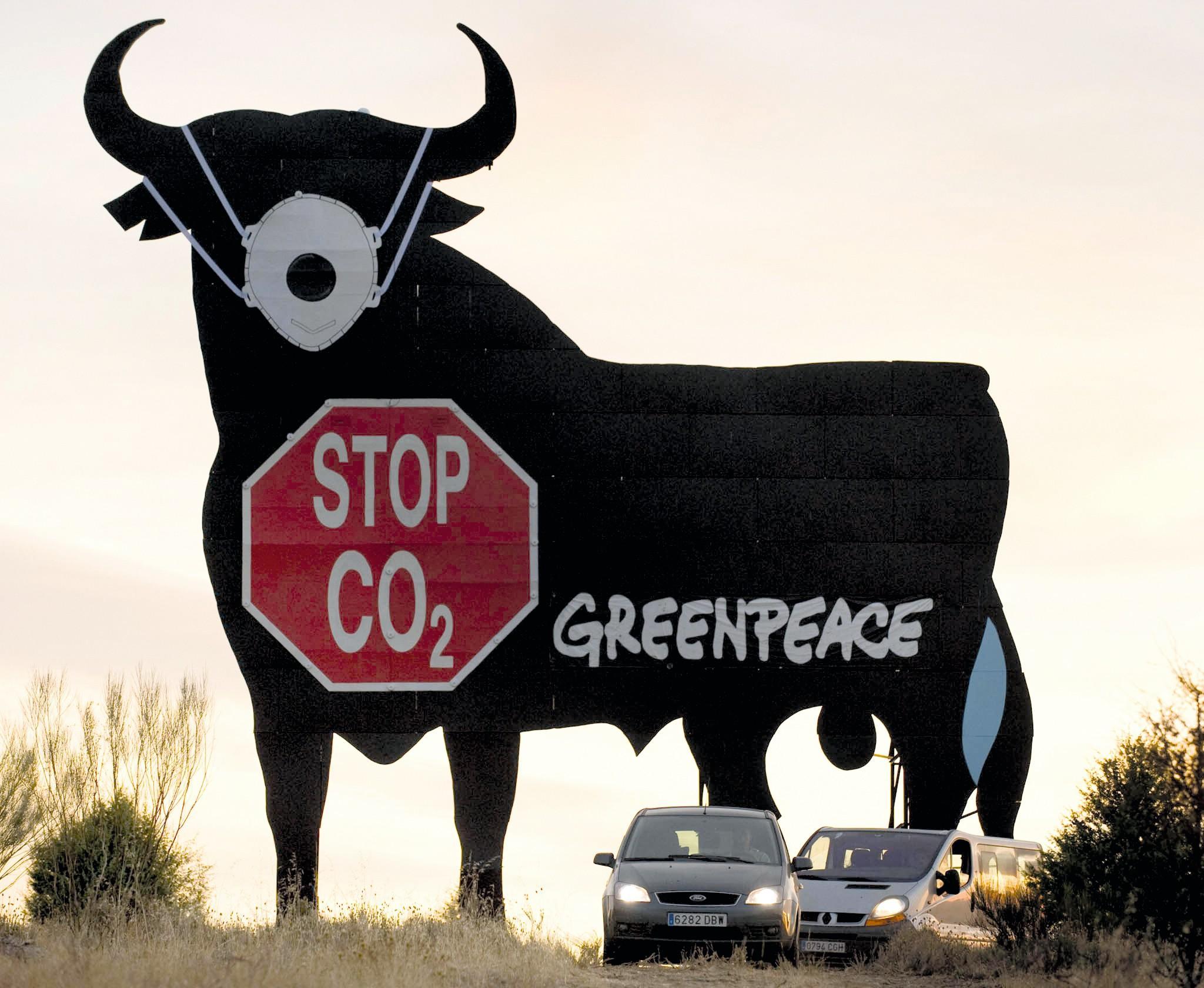 Stop CO2, Greenpeace