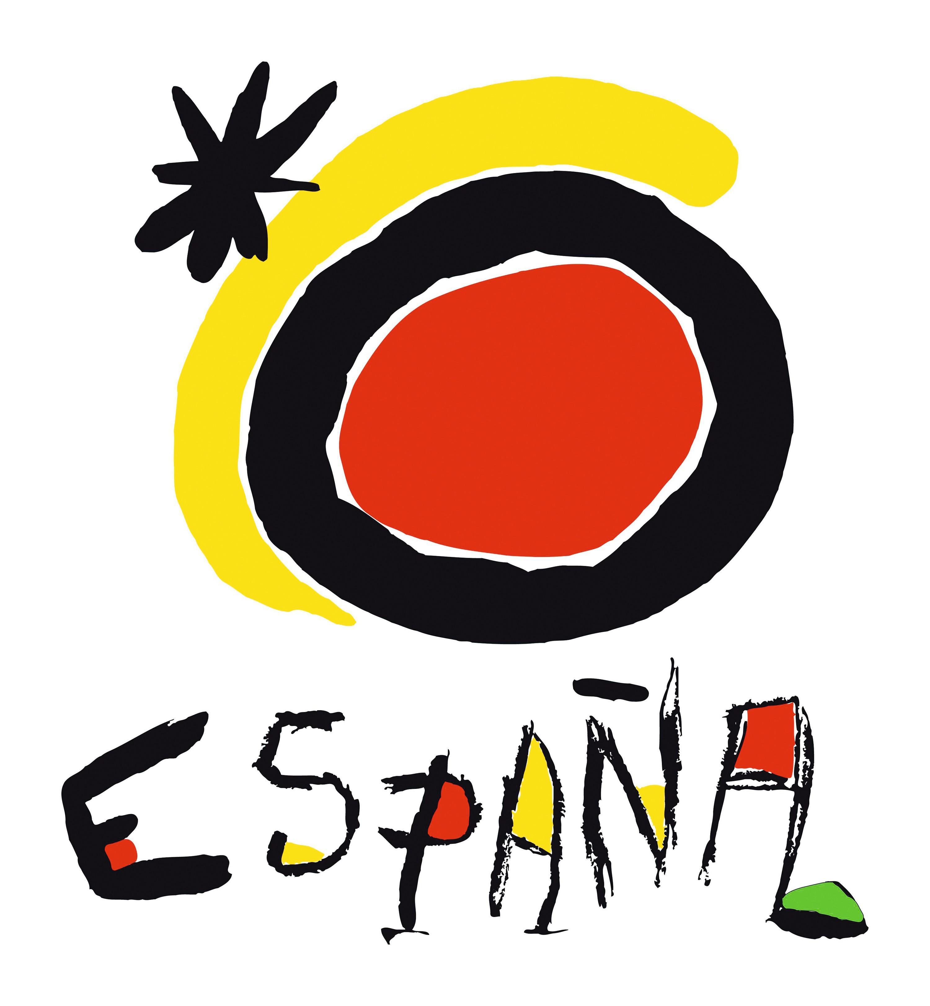 Joan Miró, Logotipo de Turespaña, 1983.