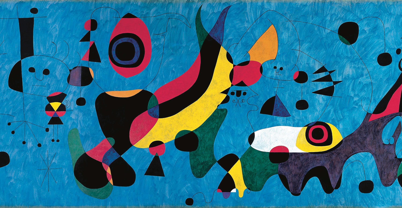 Joan Miró, Mural del Terrace Plaza Hotel de Cincinnati, 1947.