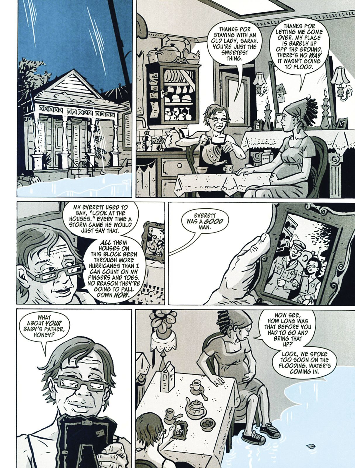 Dark Rain - A New Orleans Story, Mat Johnson and Simone Gane, Vertigo Comics, 2010.