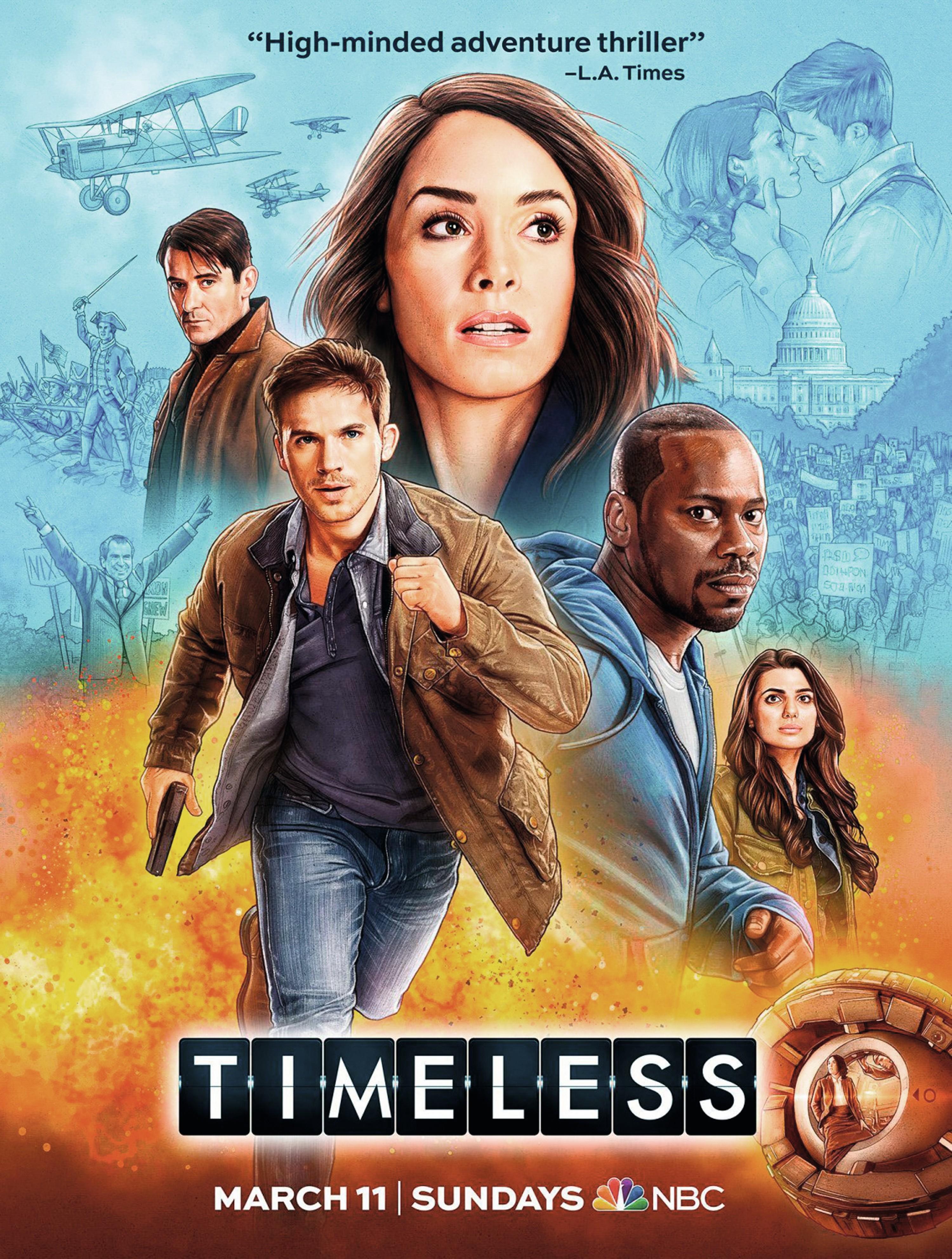 Timeless, by Eric Kripke, 2017.