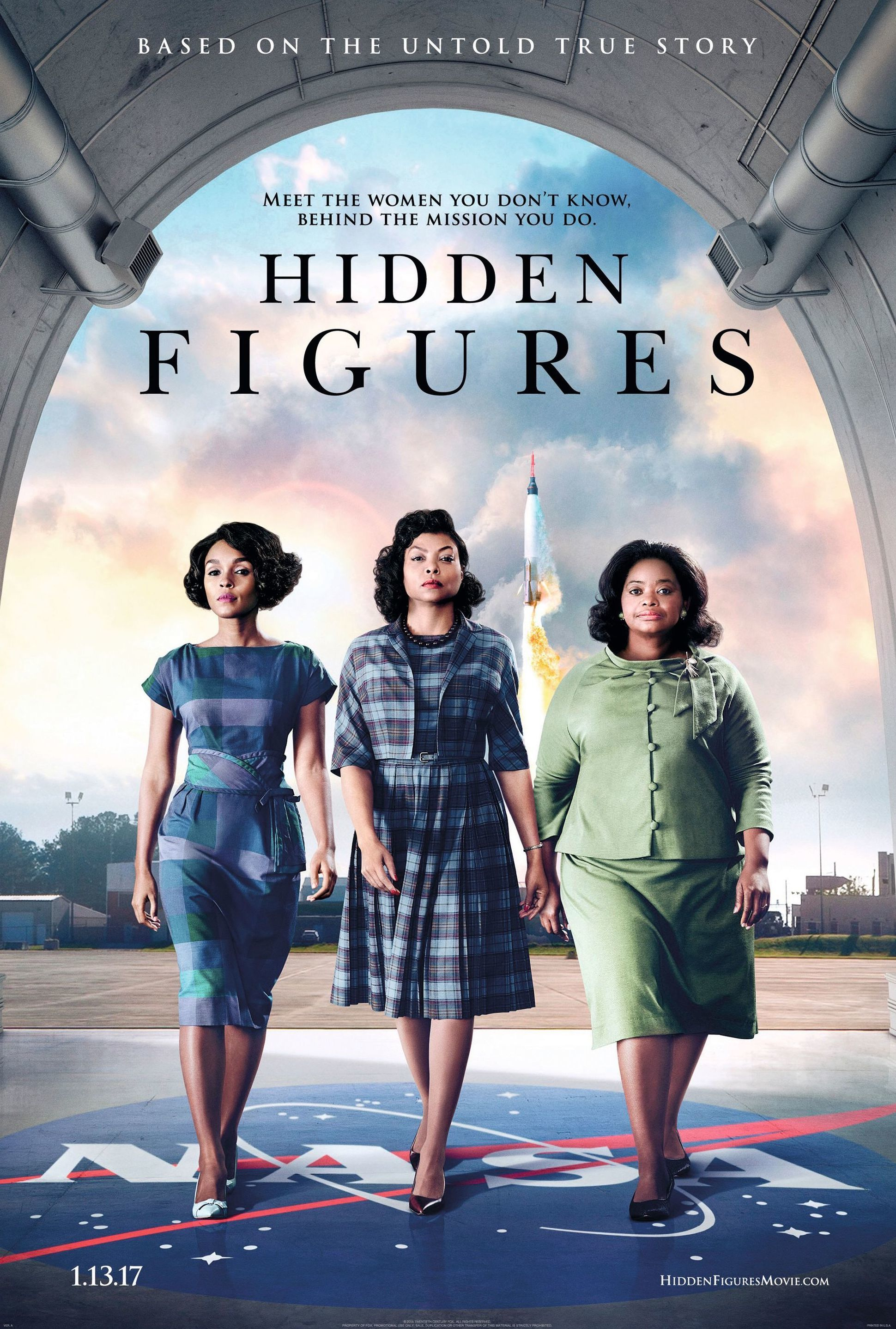 Hidden Figures, by Theodore Melfi, 2017.