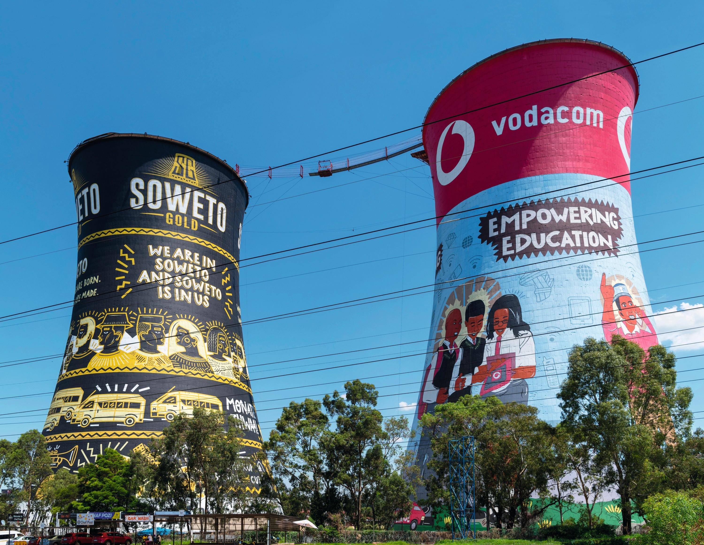 Orlando Towers, Johannesburg, 2015.