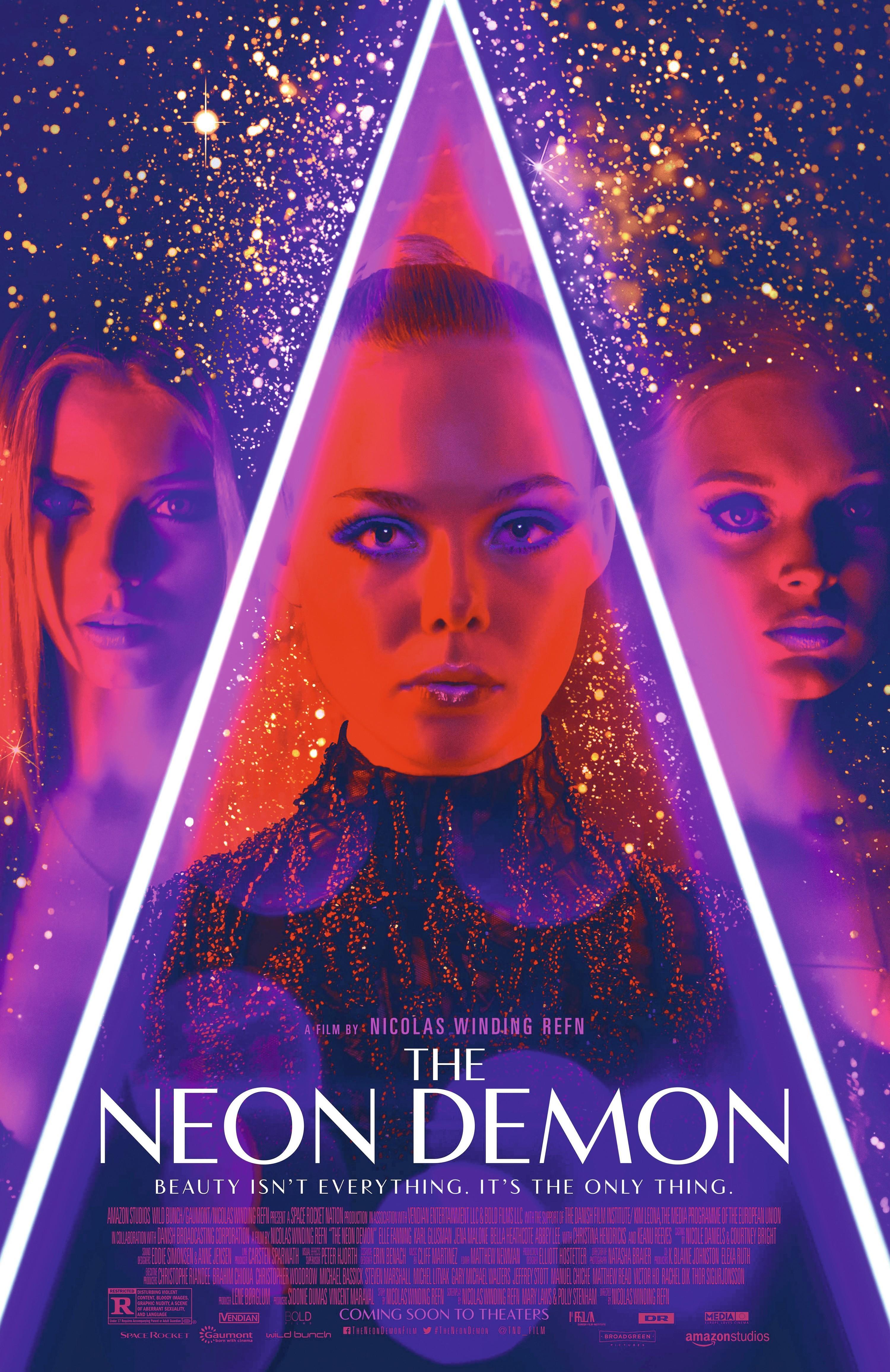 The Neon Demon, by Nicolas Winding Refn, 2016.