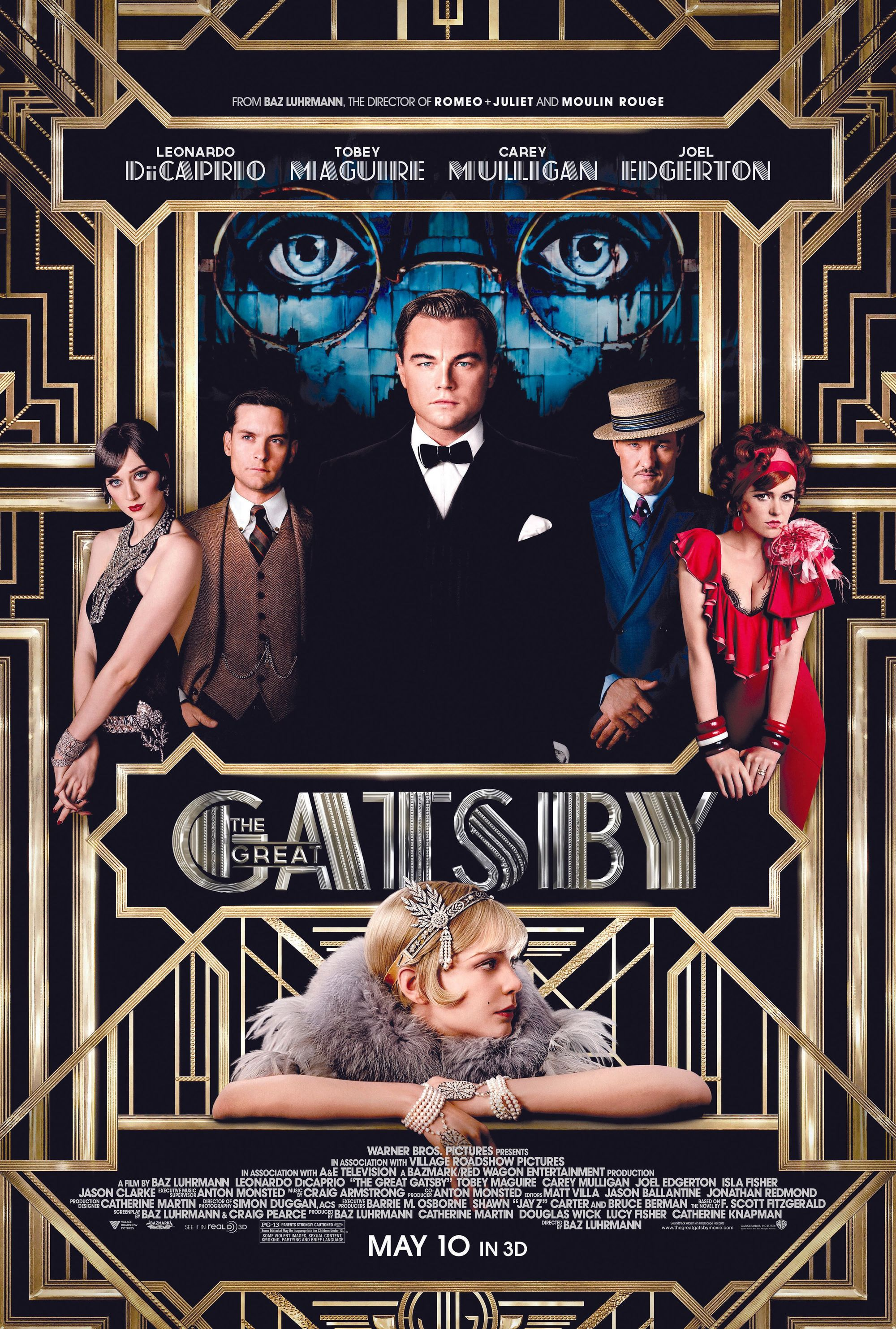 The Great Gatsby, by Baz Luhrmann, 2012.