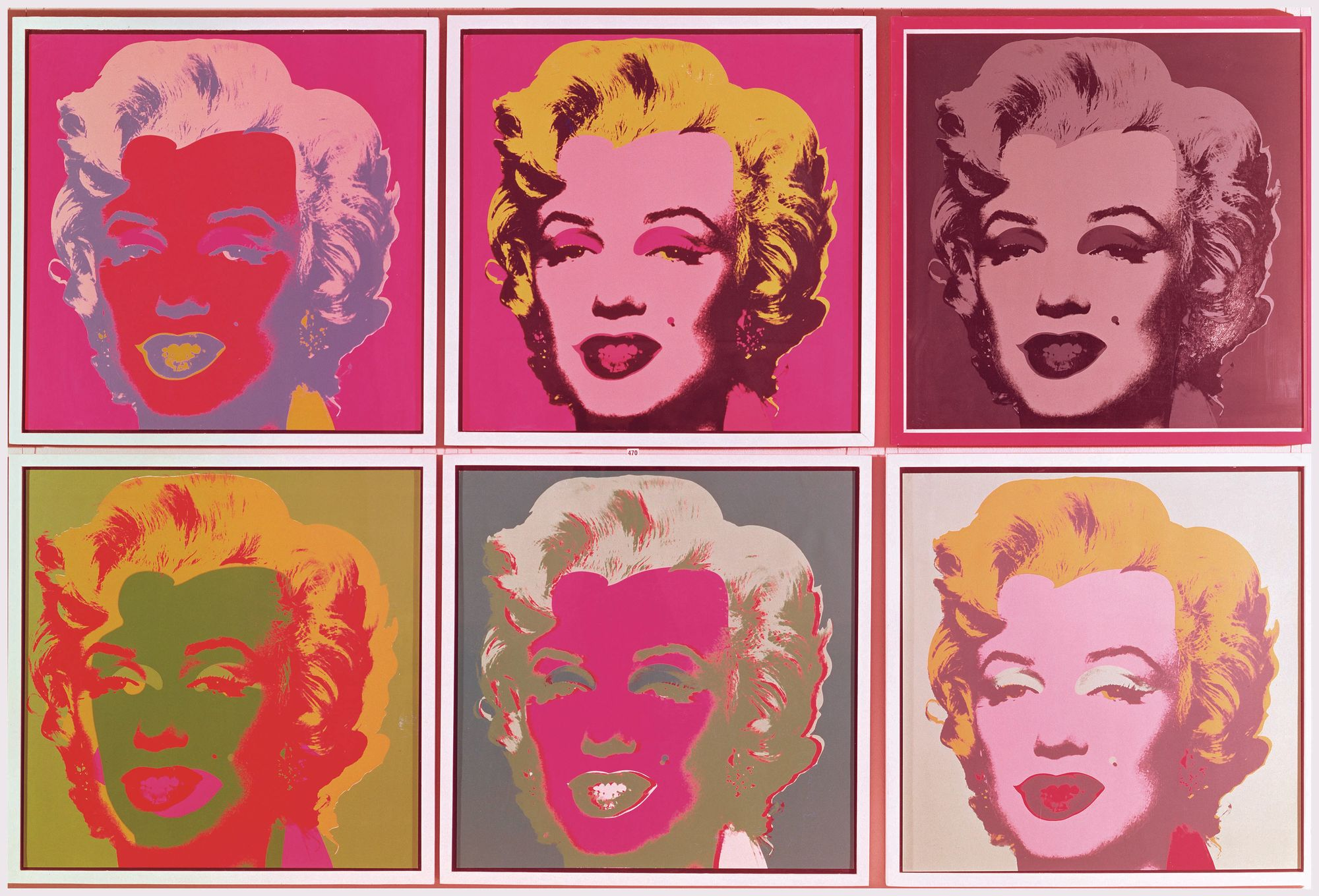 Marylin Monroe, Andy Warhol, 1967.