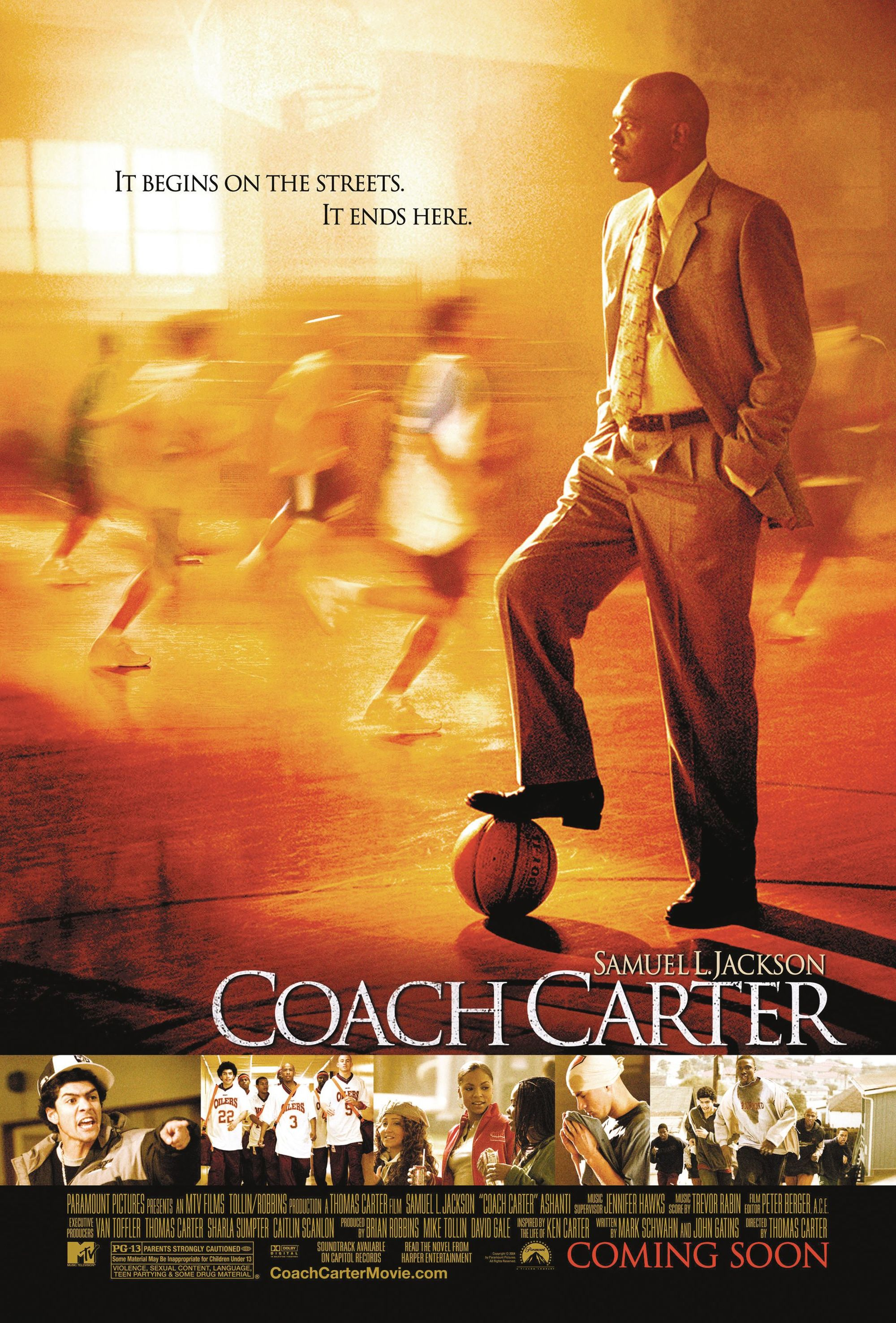 Coach Carter, by Thomas Carter, 2005.