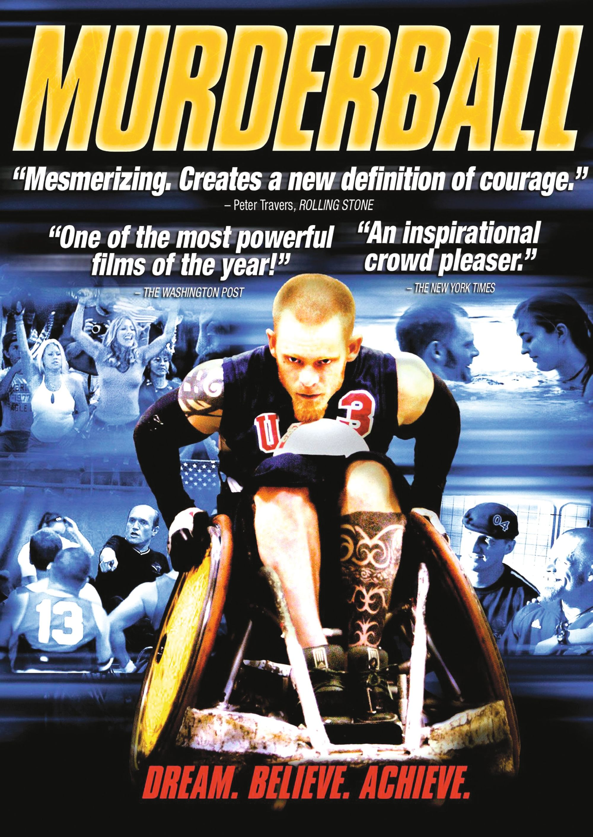 Murderball, by Henry A. Rubin and Dana Adam Shapiro, 2007.