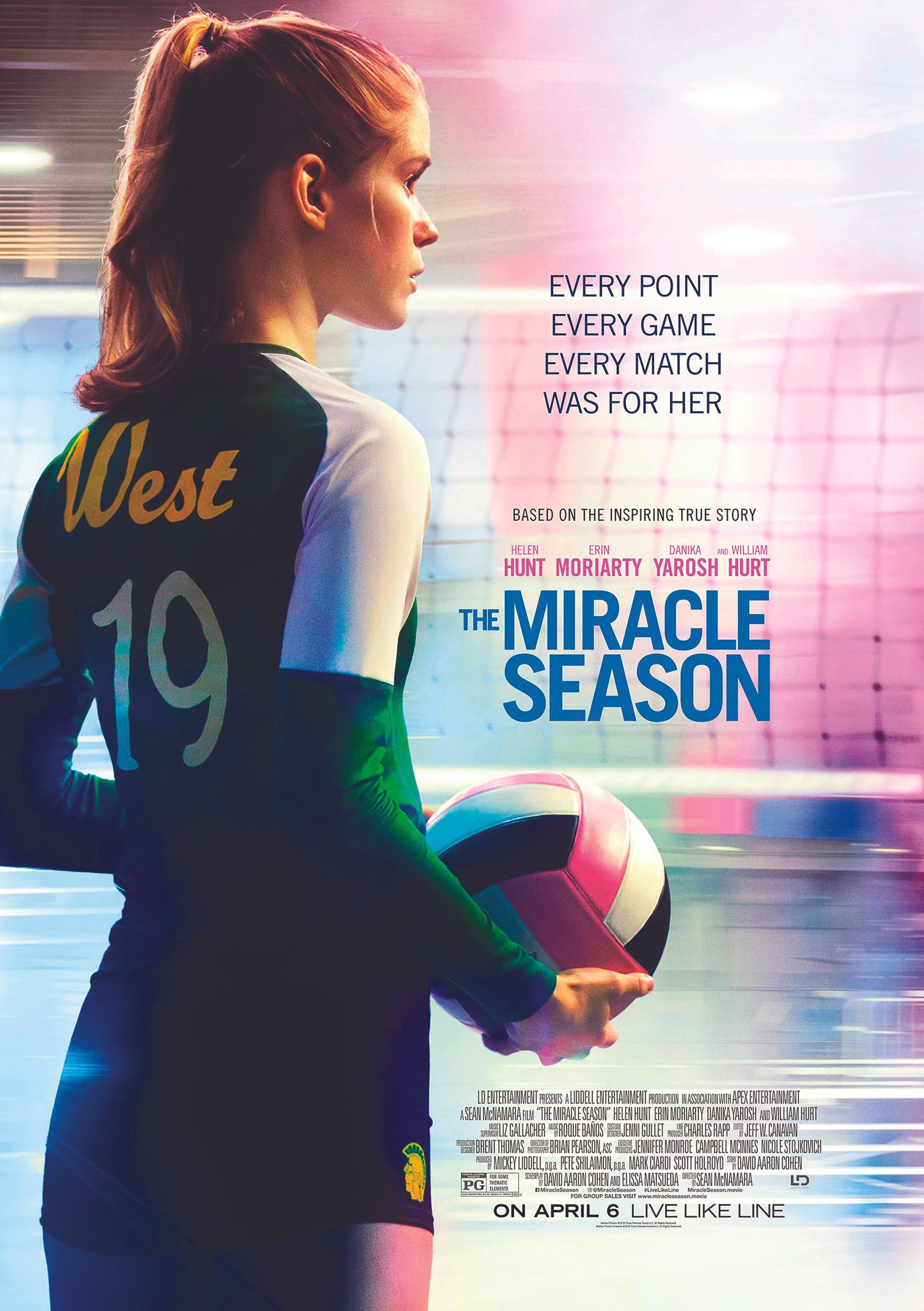 The Miracle Season, by Sean Mc Namara, 2018.