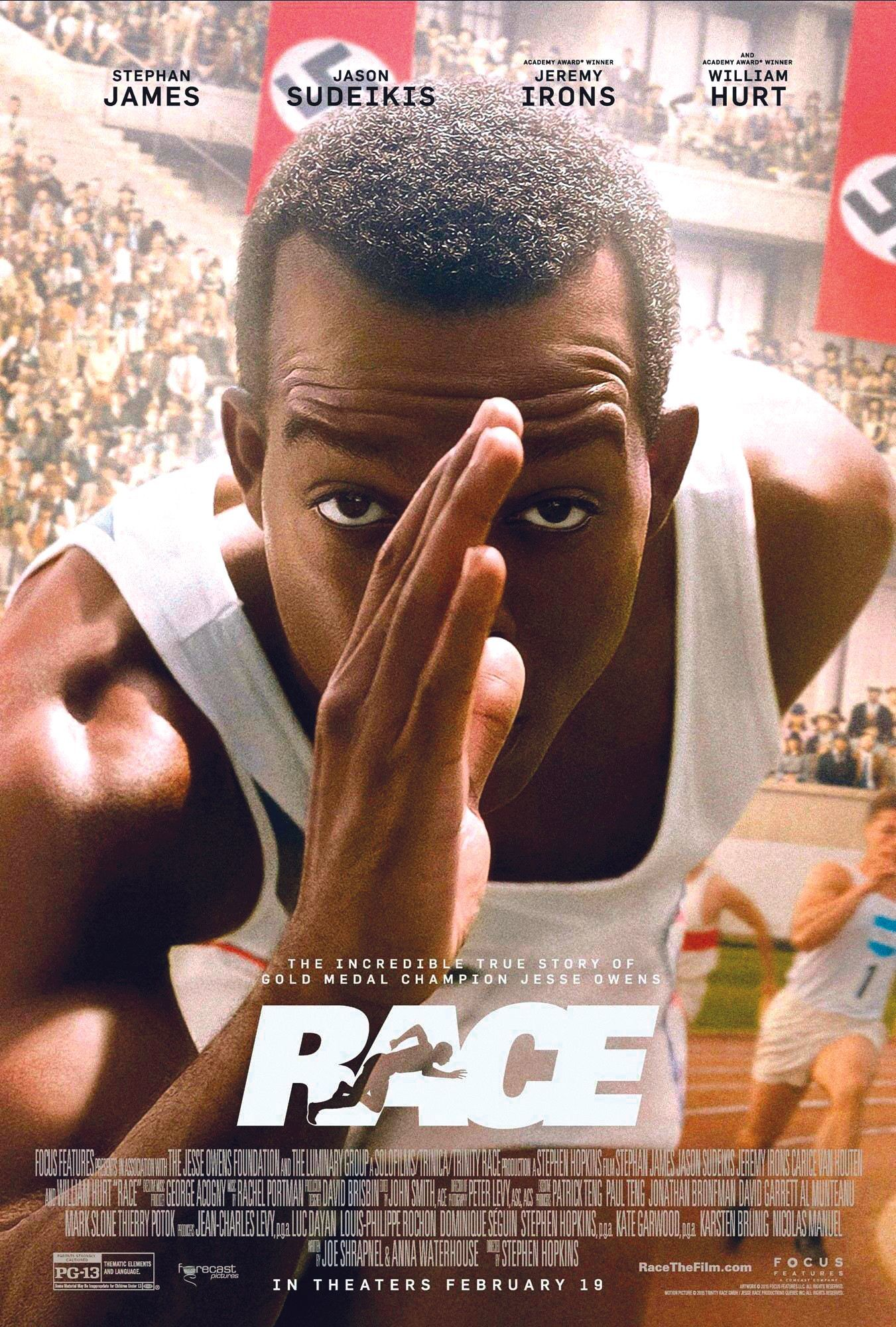Race, by Stefen Hopkins, 2016.