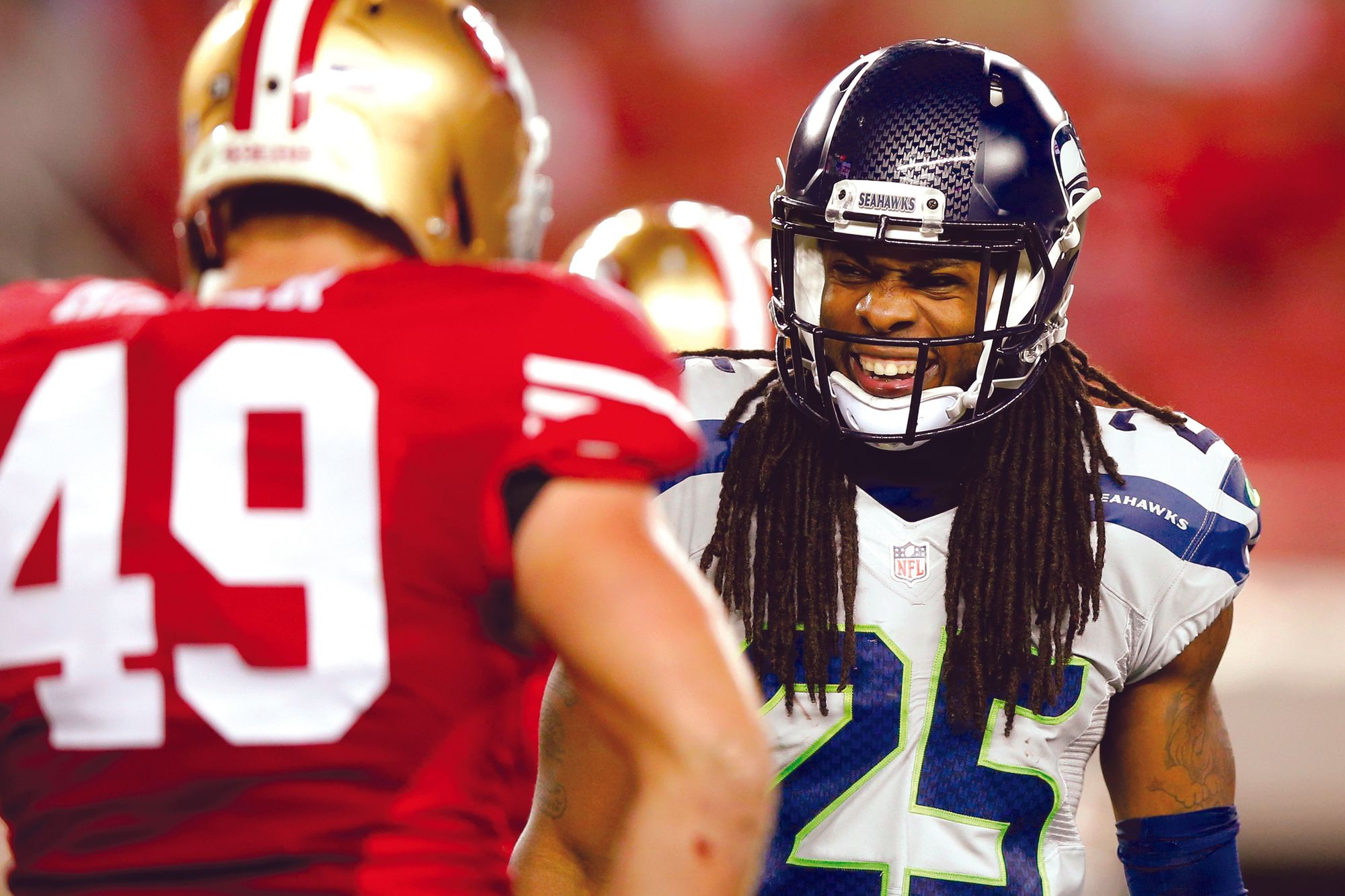 Richard Sherman, 2015.