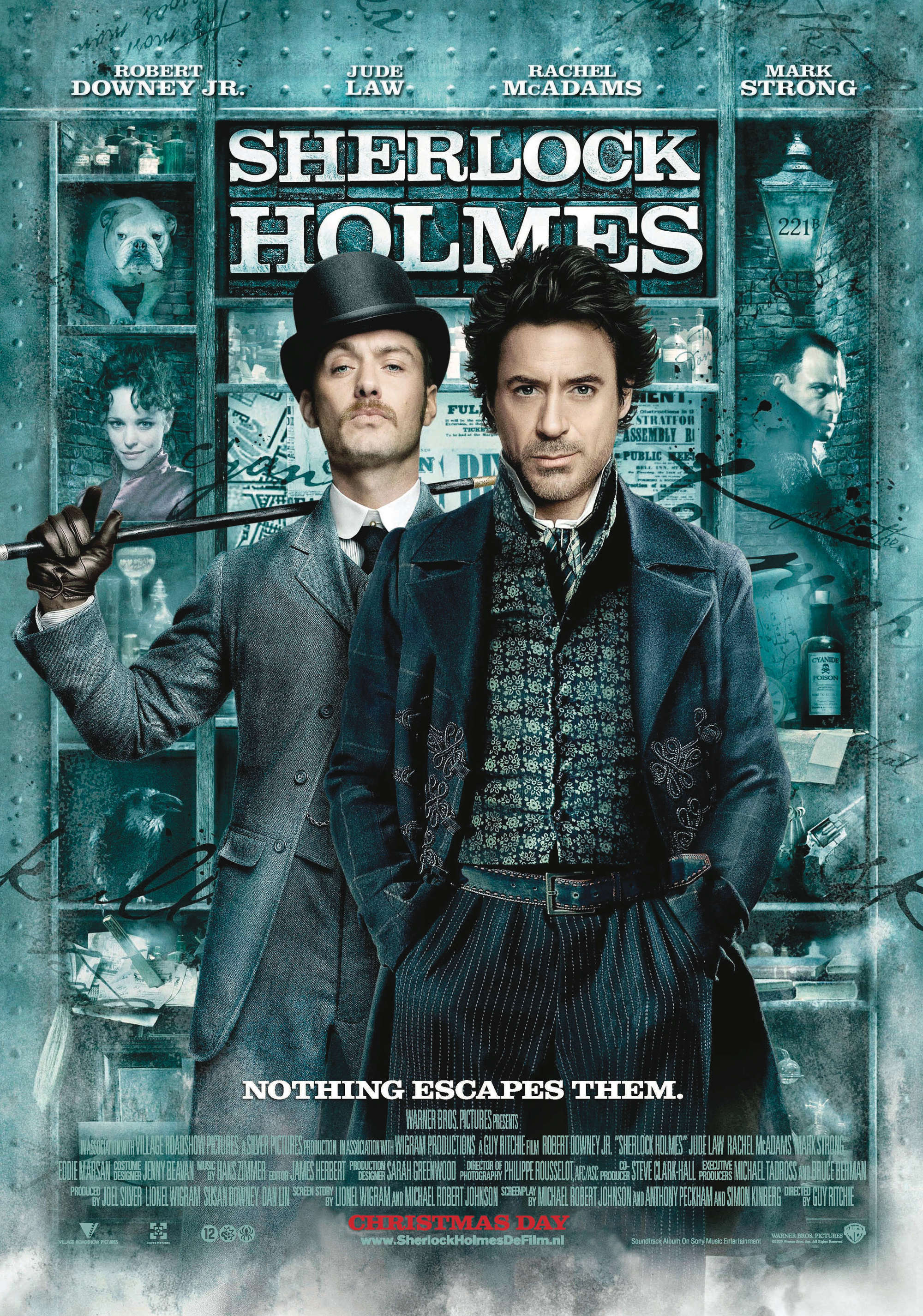 Sherlock Holmes, by Guy Ritchie, 2009.