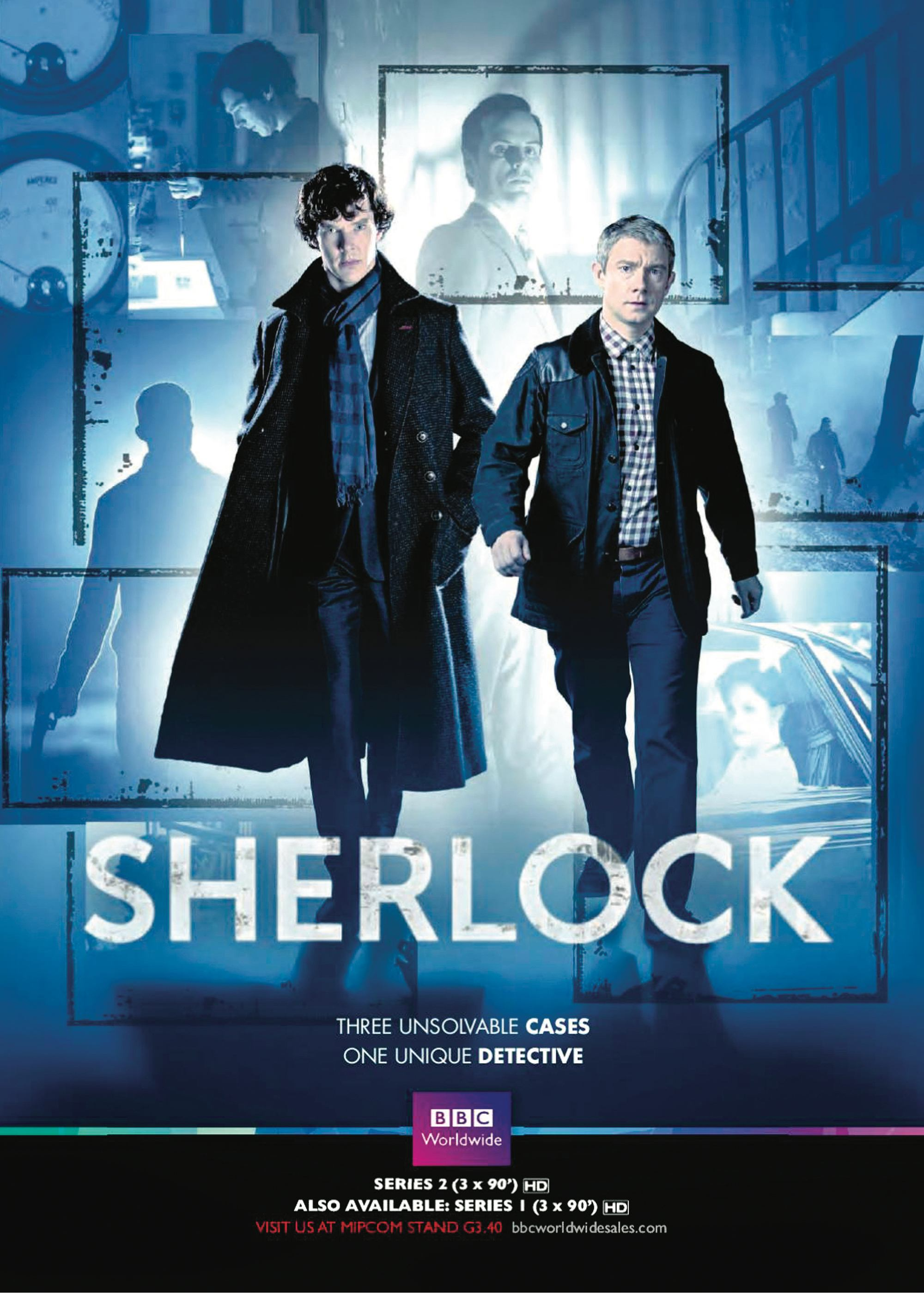 Sherlock, by Mark Gatiss and Steven Moffat.