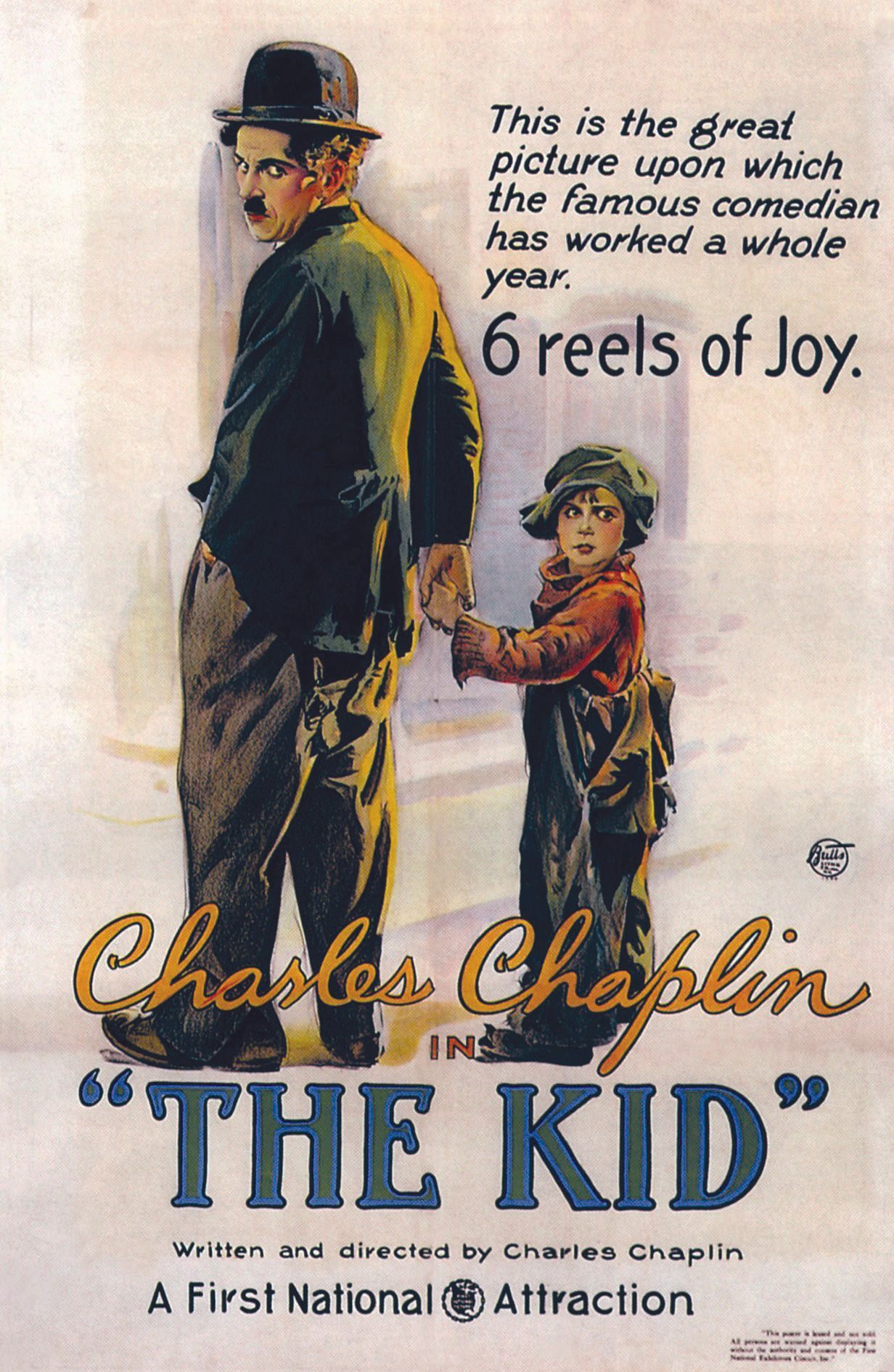 The Kid, by Charlie  Chaplin, 1921