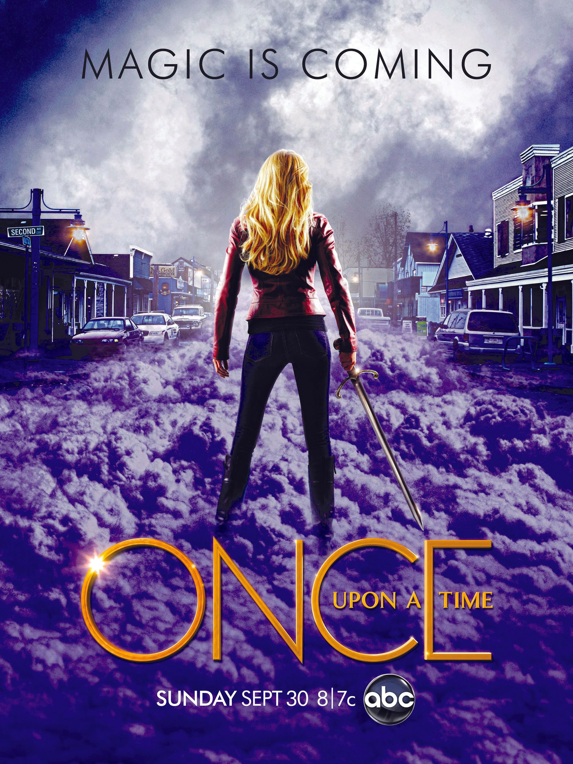 Once Upon a Time,by Adam Horowitz and Edward  Kitsis, 2011.