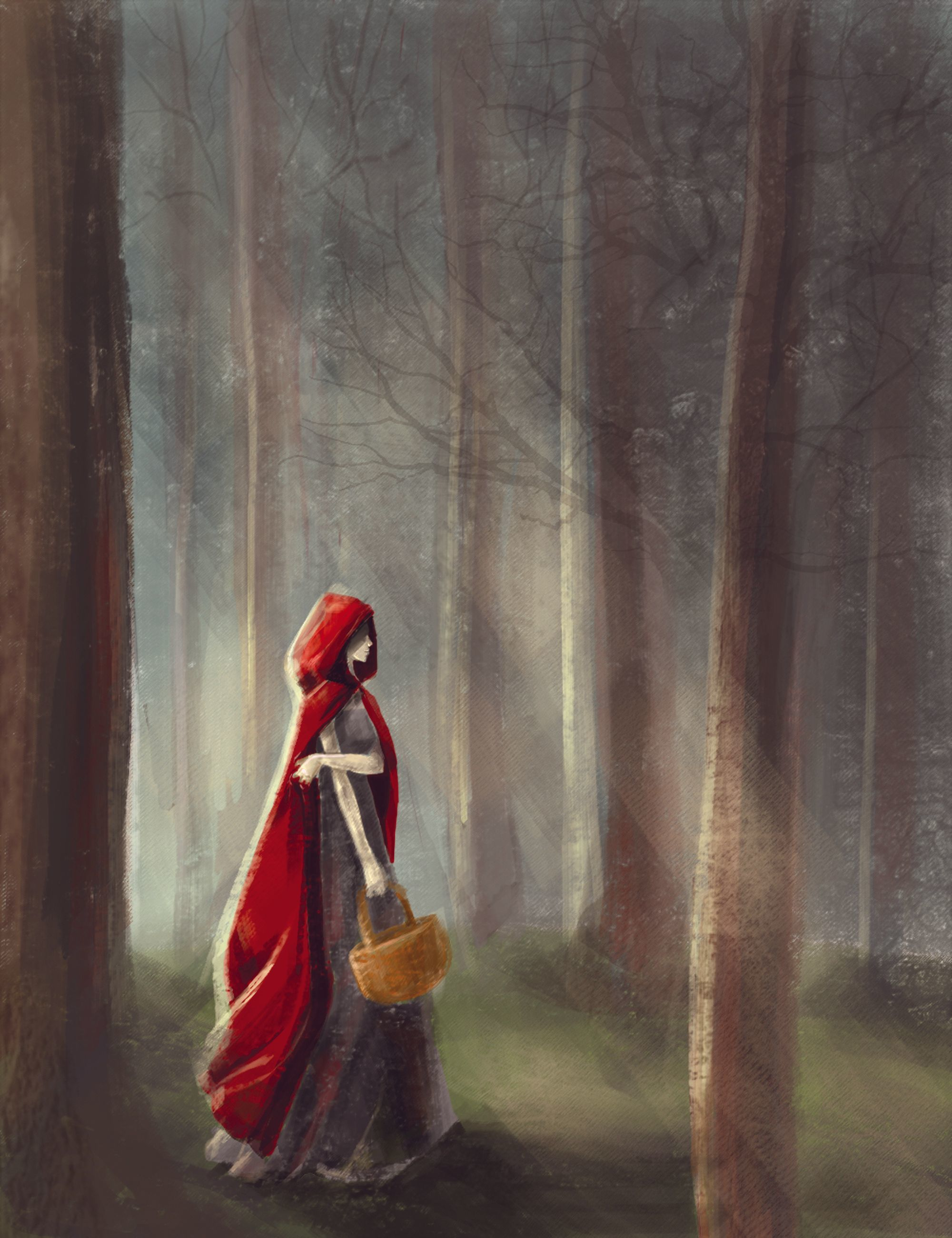 Red Riding Hood, Gwennet.