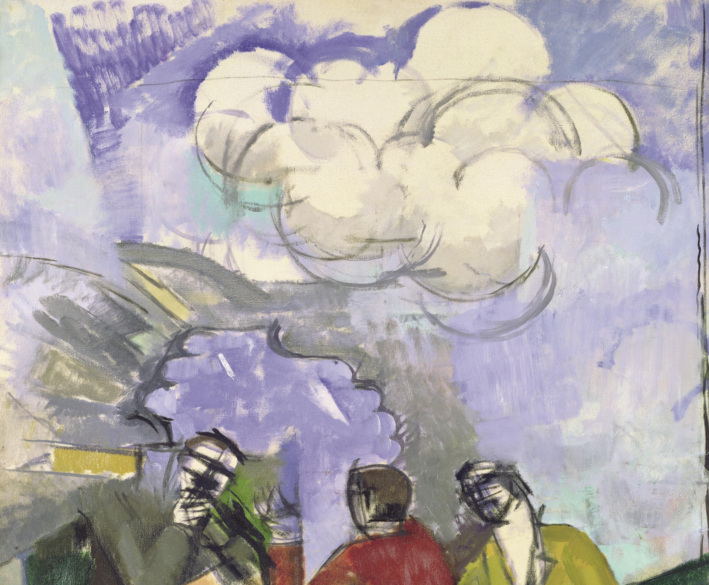 Roger de La Fresnaye, La Conquête de l'air (détail), 1913