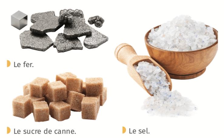 Quelques exemples de solides