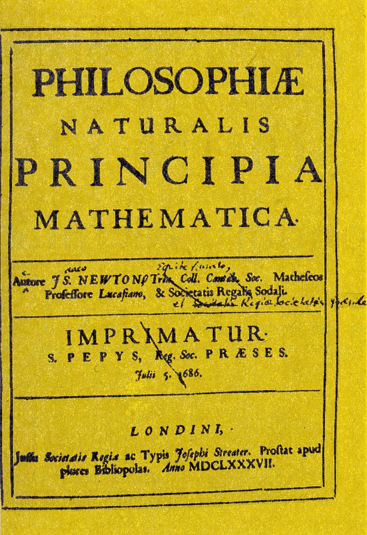 Ouvrage mathématique Newton
