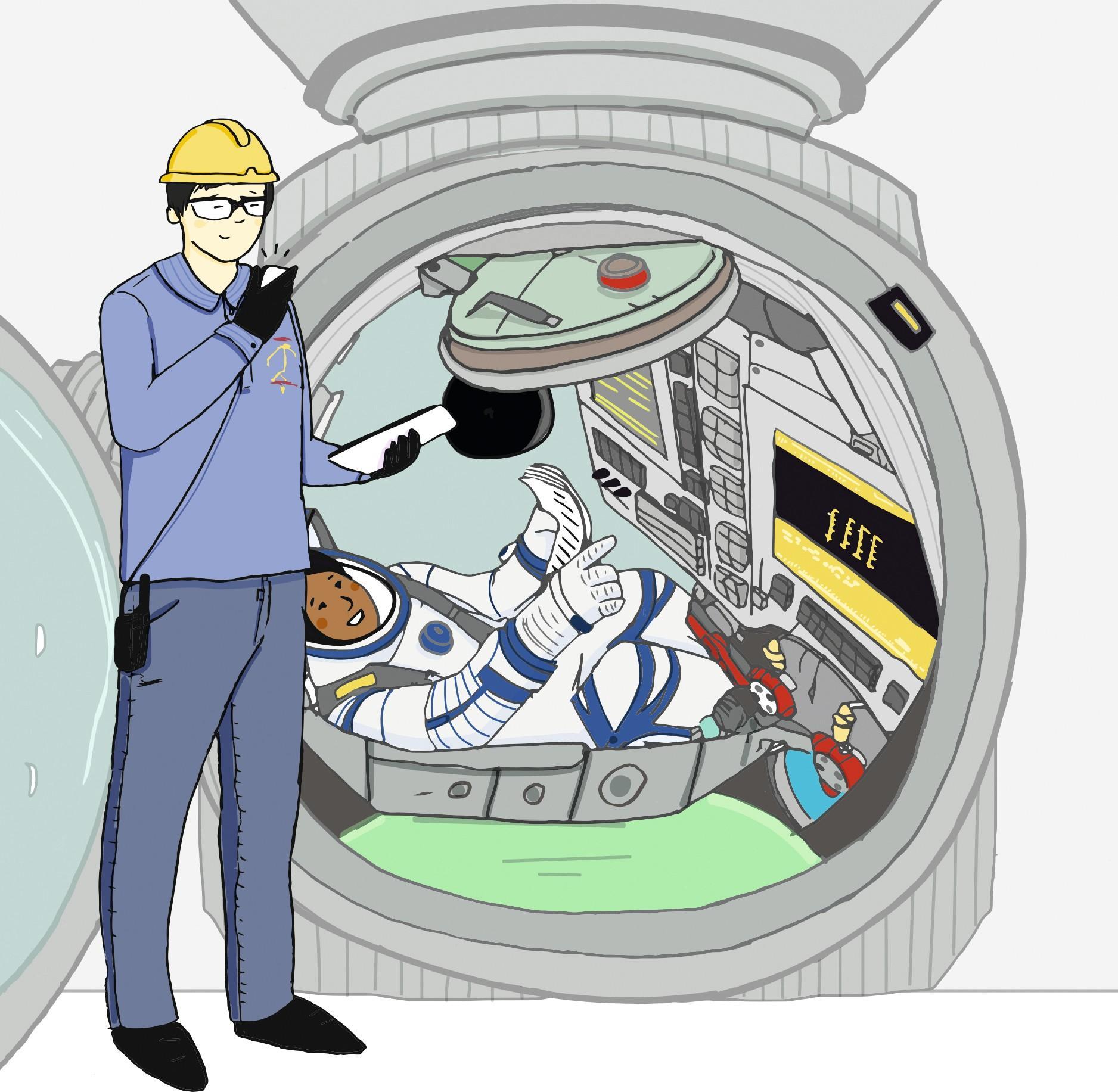 Check décollage navette spatiale