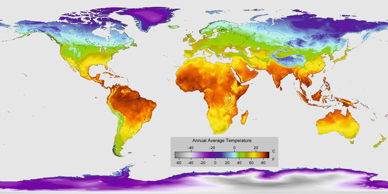 Planisphère_températures