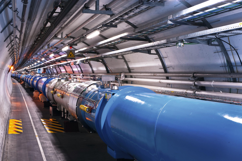 Secteur 3-4 du tunnel de l'accélérateur de particules, Genève