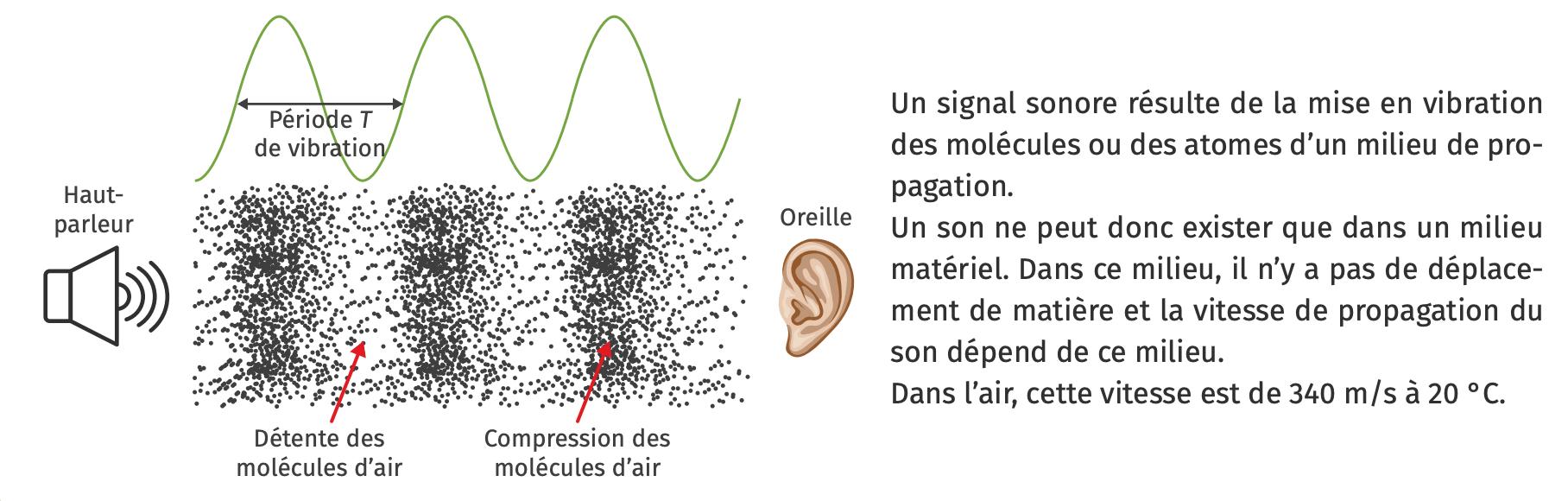 Les sons et leur propagation