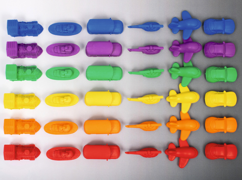 Le cortège électronique de l'atome, jouets