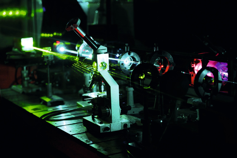Laser optique
