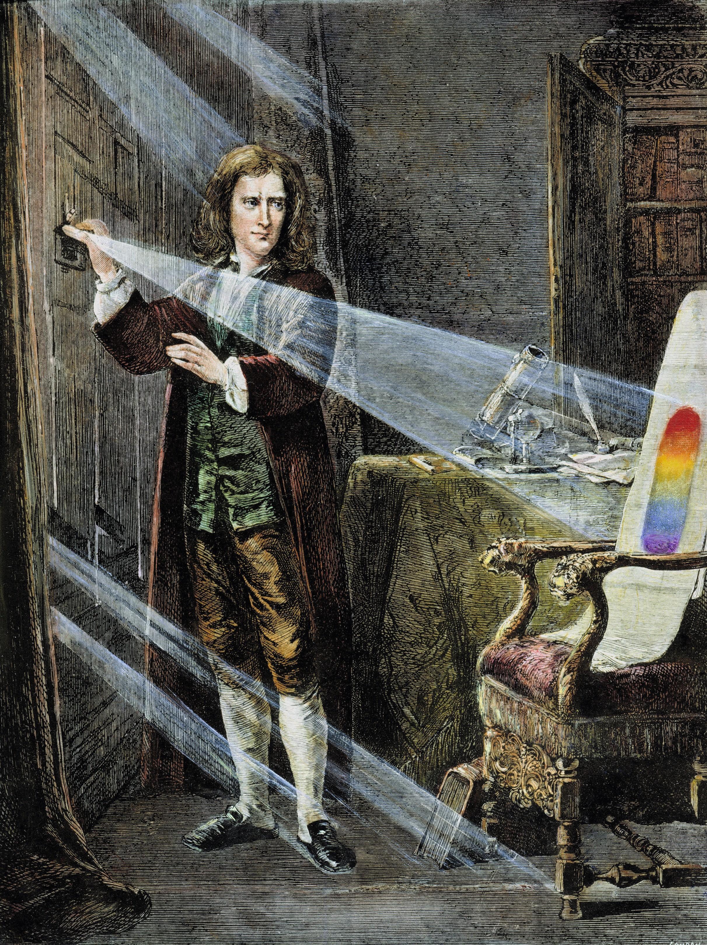 'L'expérience d'Isaac Newton