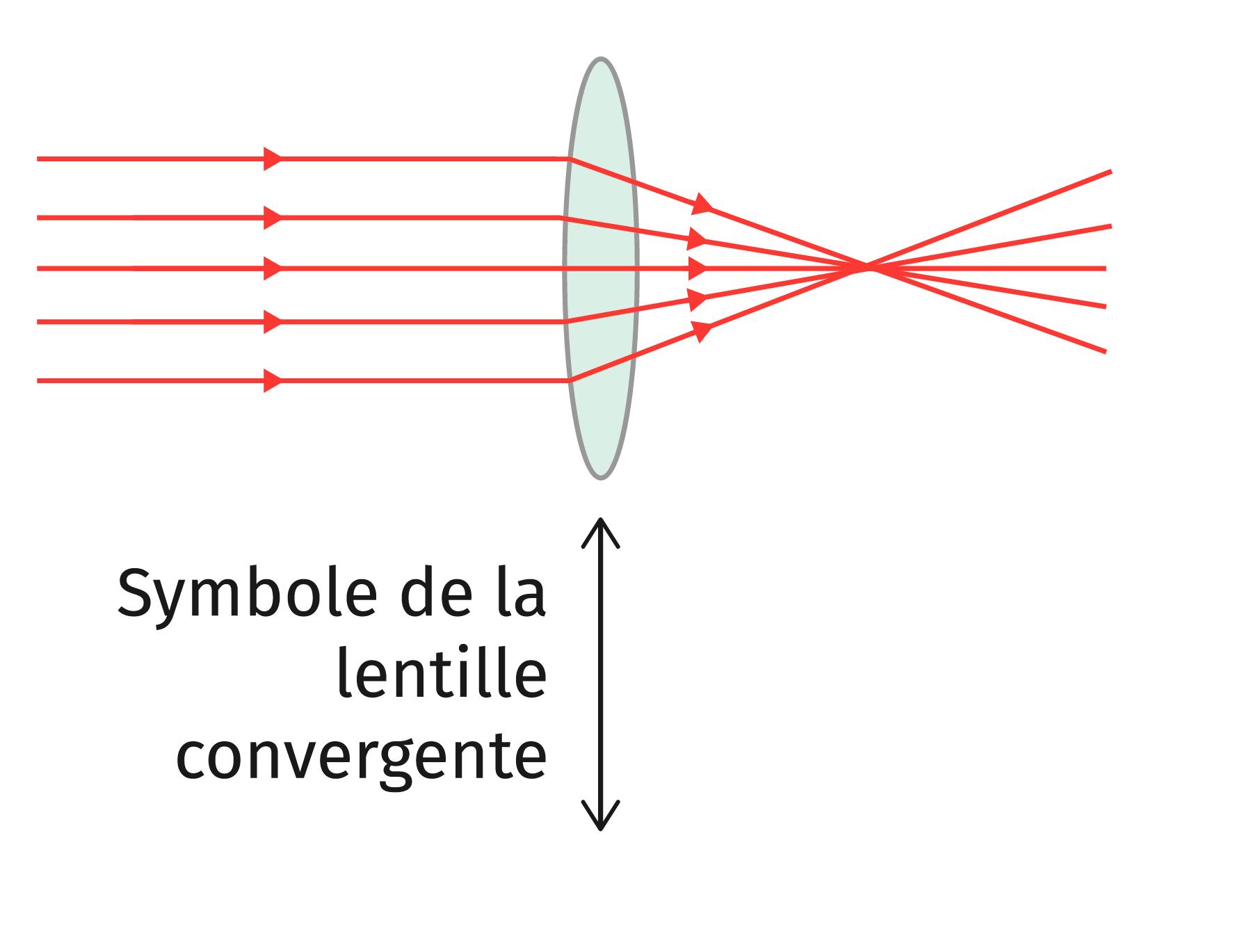 La lentille convergente