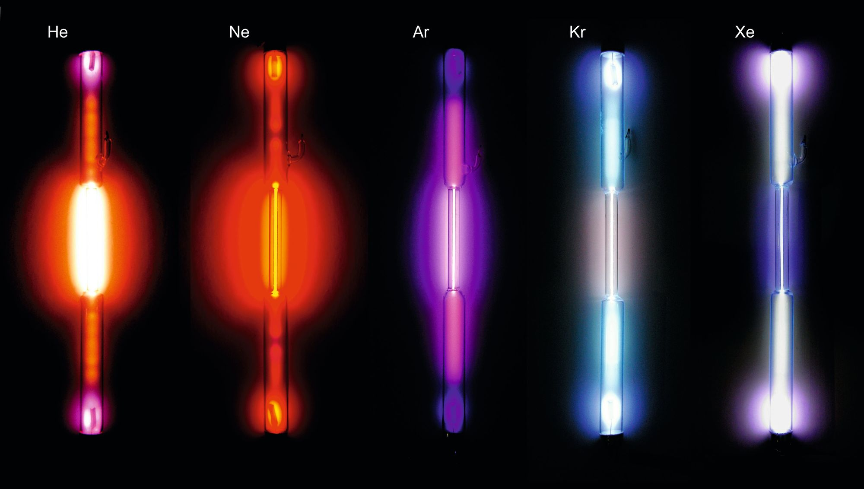 Fluorescence des gaz