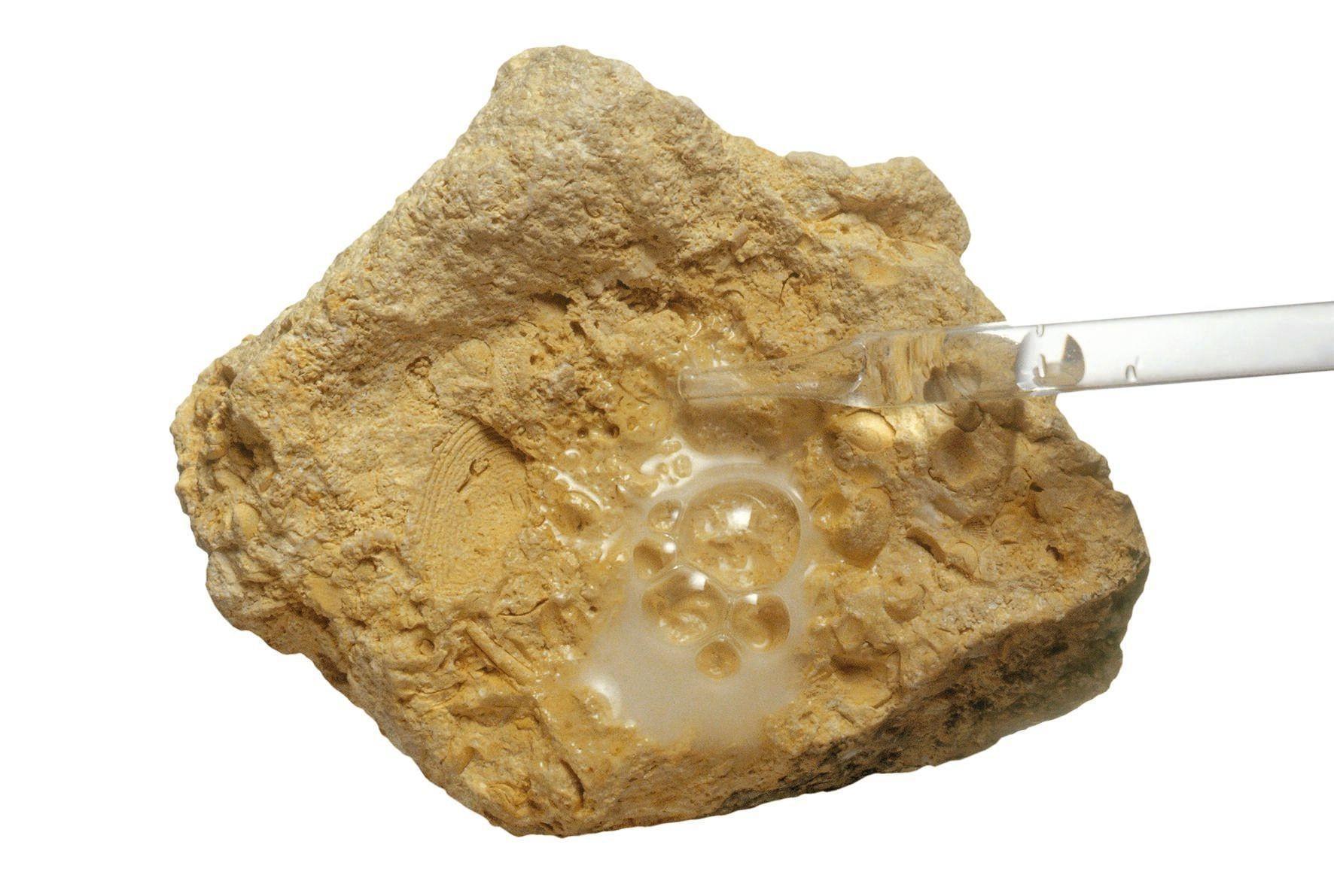 Dissolution calcaire