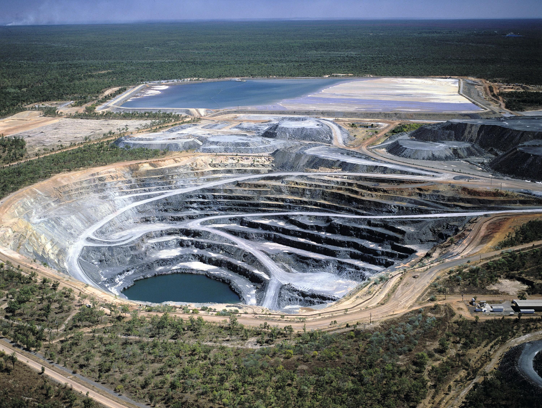 Mine d'uranium.
