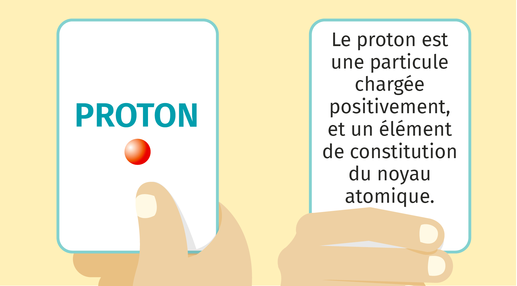 Exemple de flashcard
