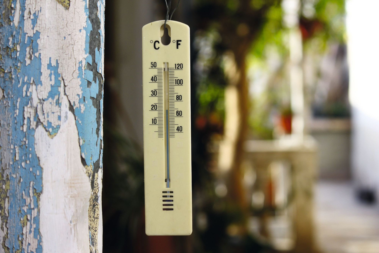 Thermometre Fahrenheit et degrés Celsius